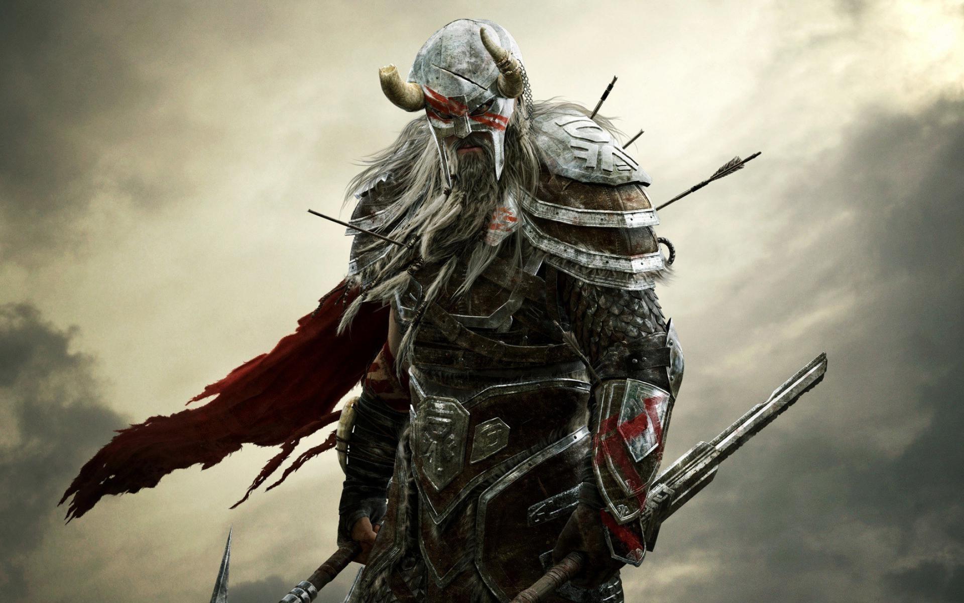 video Games, The Elder Scrolls Online, The Elder Scrolls, Fantasy Art, Warrior  Wallpapers HD / Desktop and Mobile Backgrounds