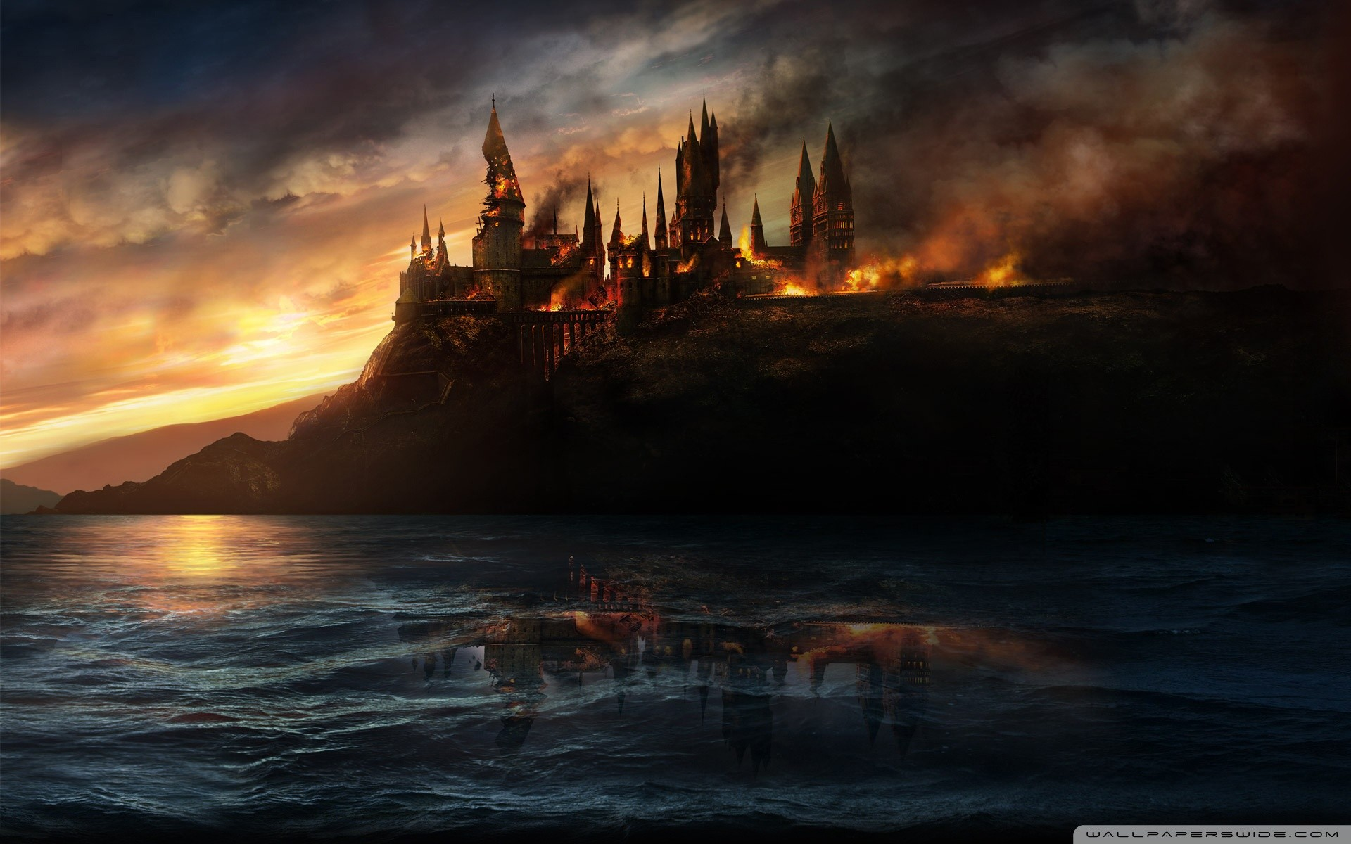 Harry Potter And The Deathly Hallows HD Wide Wallpaper for Widescreen