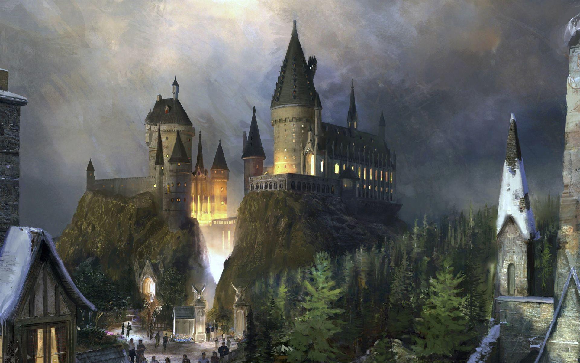 Hogwarts Castle – Harry Potter Wallpaper #8029