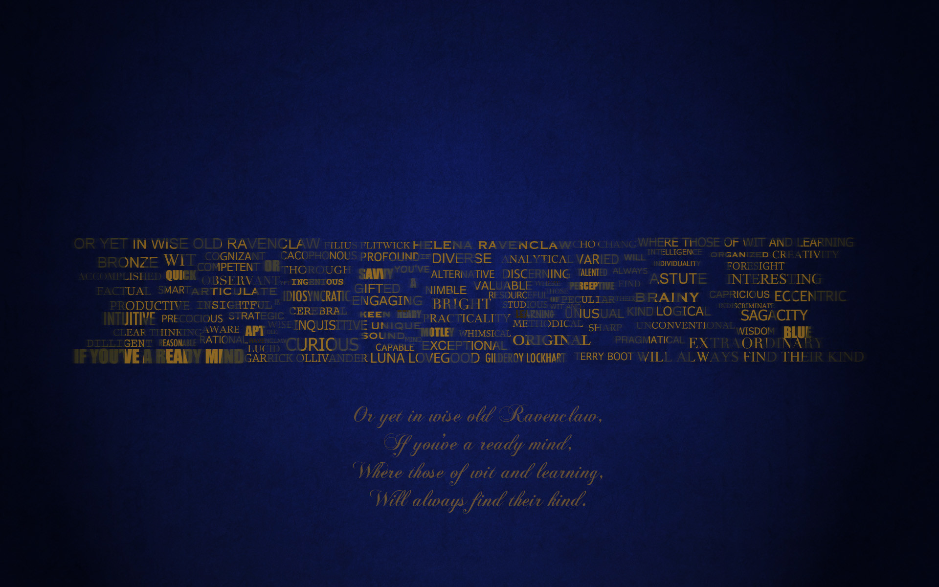 Harry Potter Iphone Wallpaper Ravenclaw Ravenclaw typography wallpaper