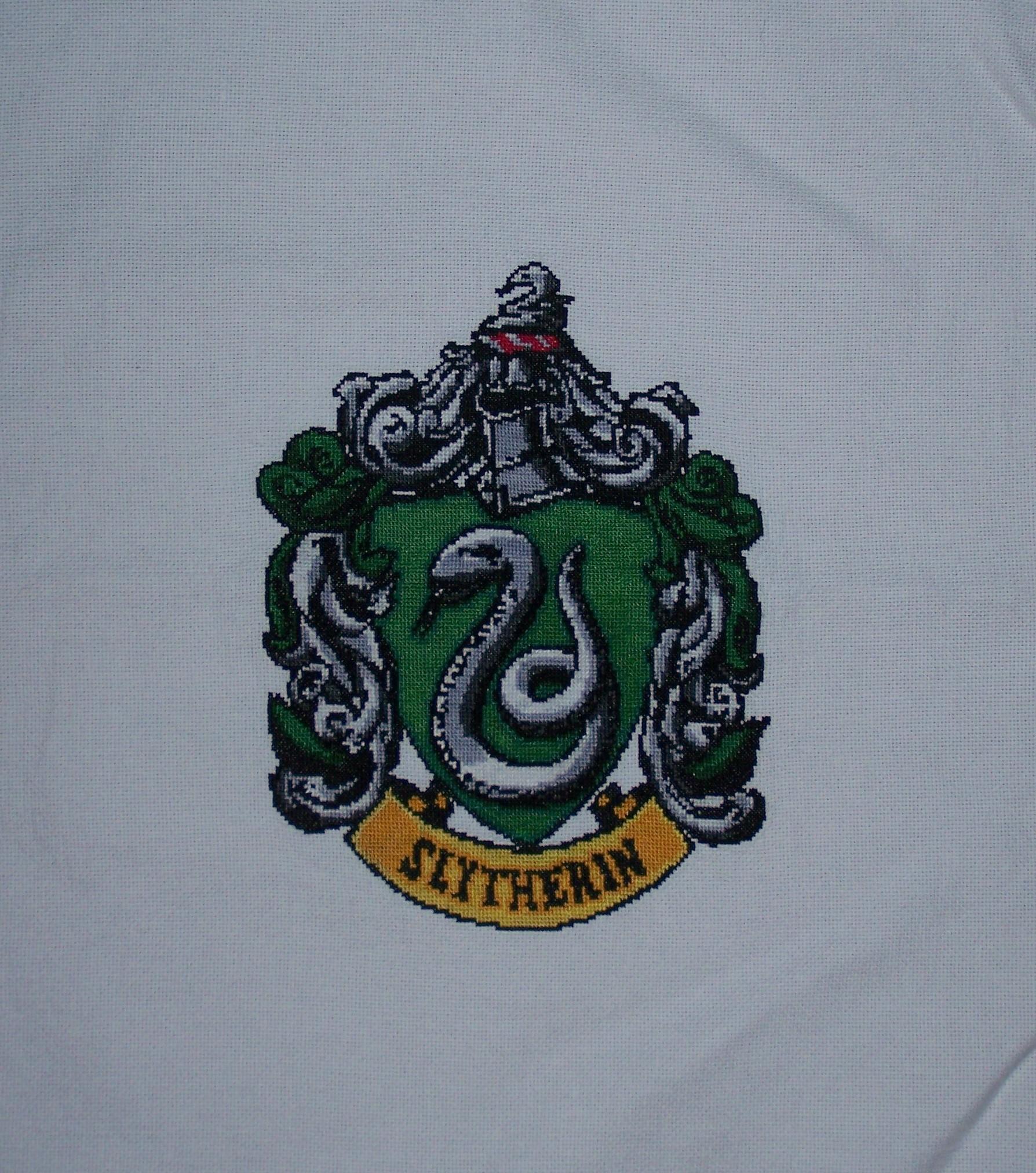 Slytherin Crest by Jess-MacGowan Slytherin Crest by Jess-MacGowan