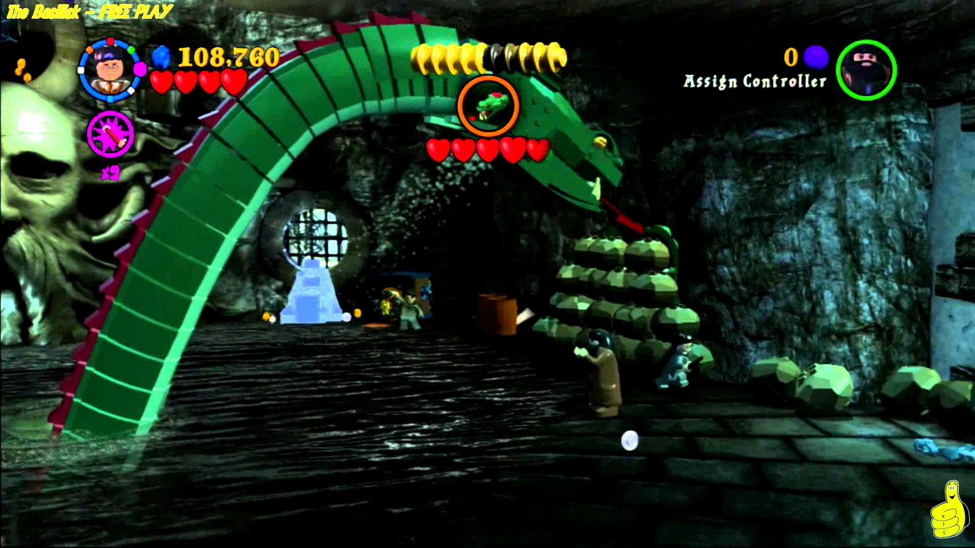 Lego Harry Potter Years 1-4: The Basilisk FREE PLAY (All collectibles) – HTG
