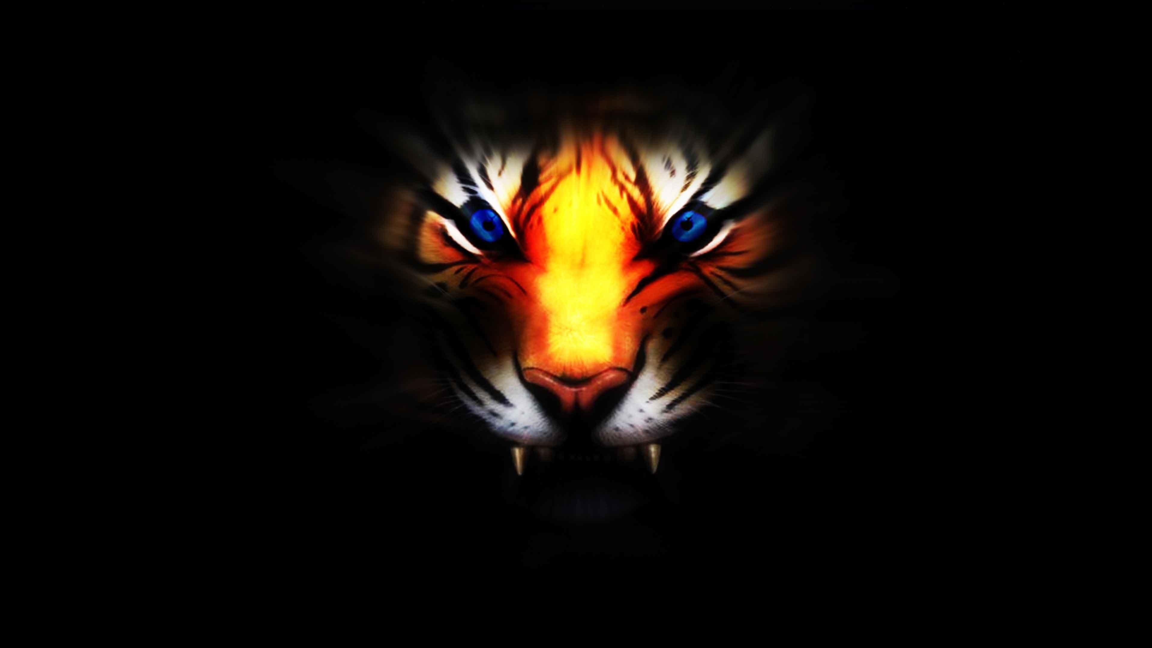 Cool 3D Tiger Wallpaper