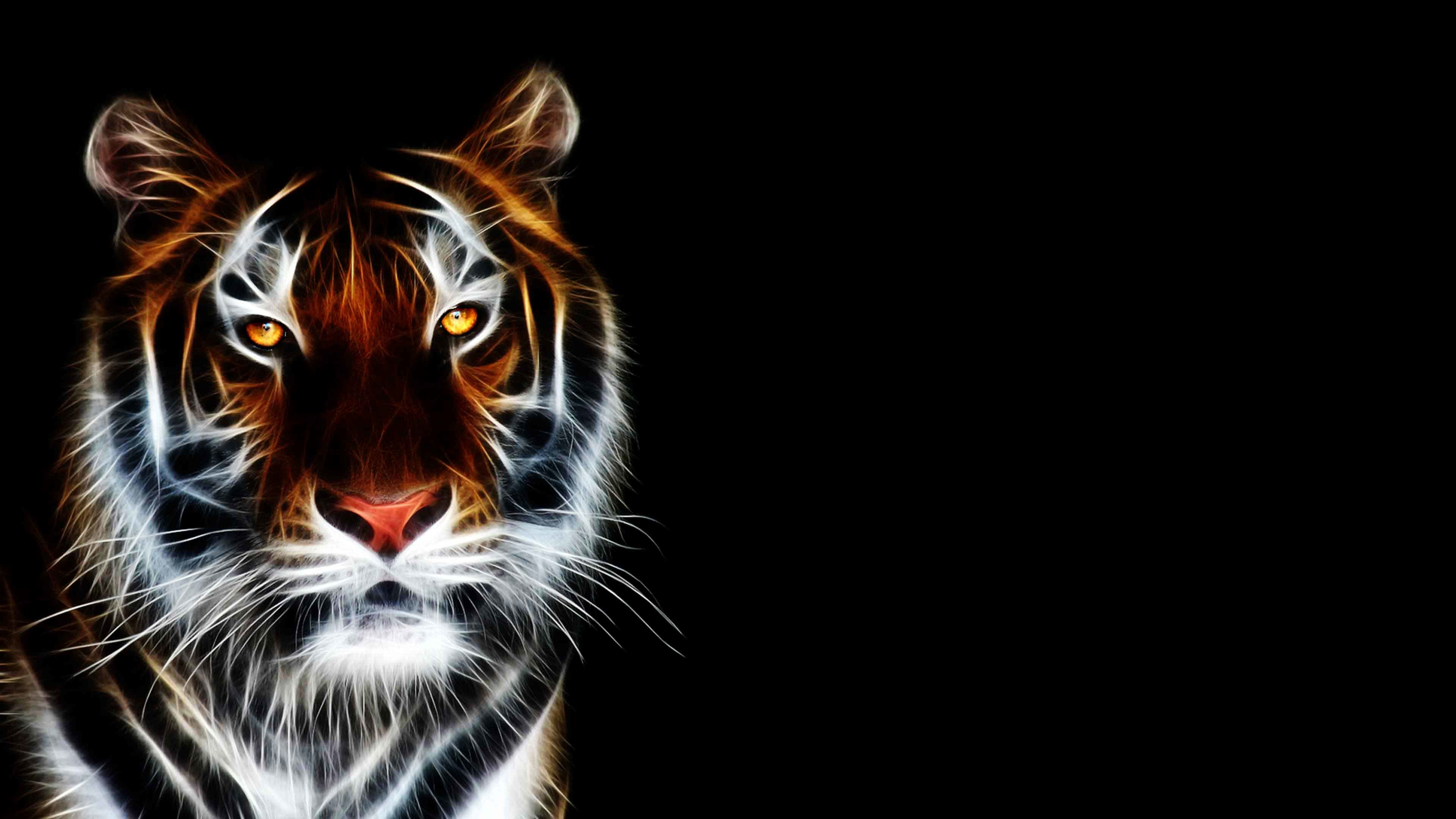 3D Animated Tiger Wallpaper