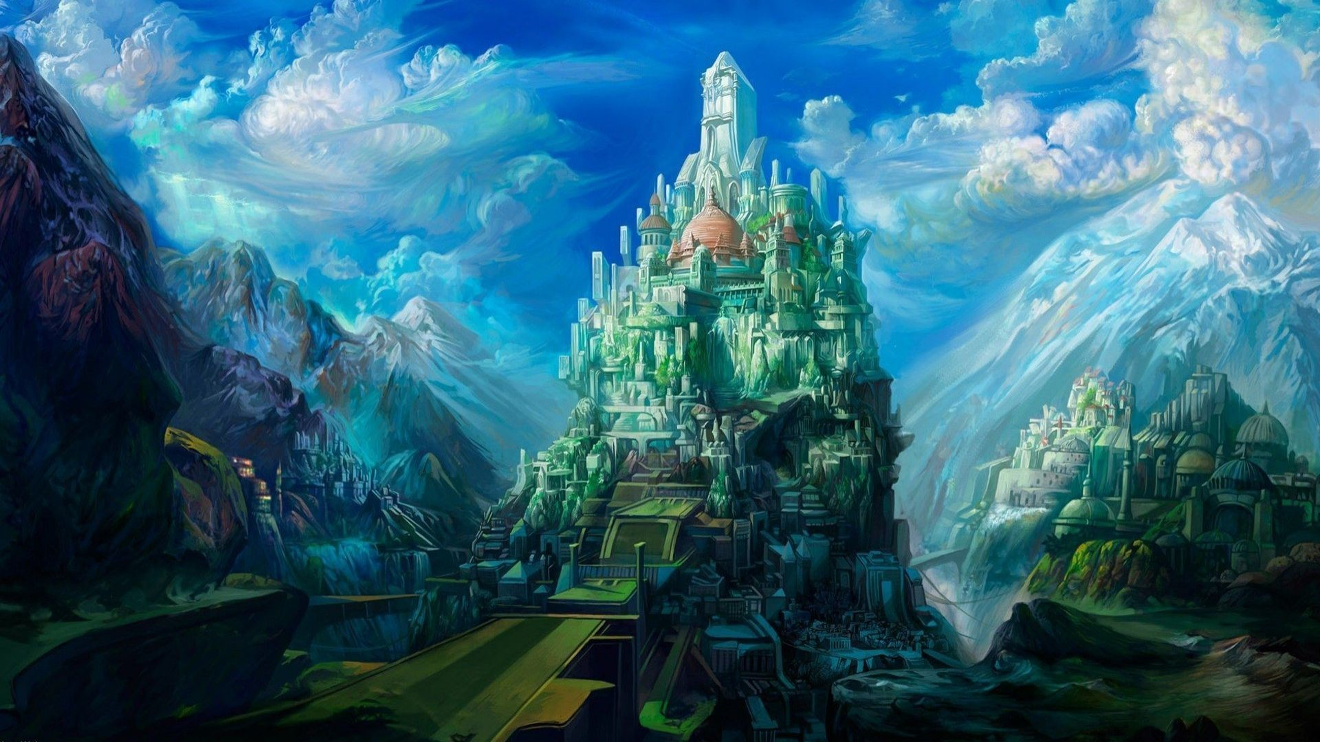 Castle HD Wallpapers Backgrounds Wallpaper   HD Wallpapers   Pinterest    Castles, Wallpaper and Wallpaper backgrounds