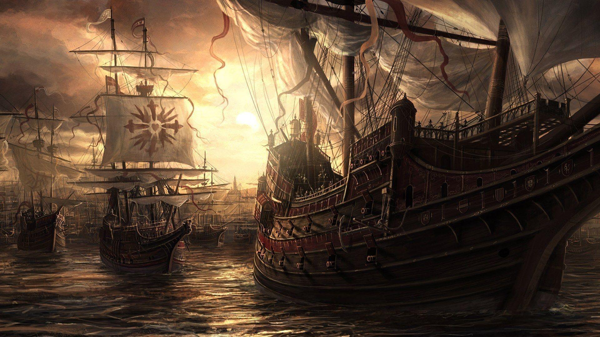 Armada Sailing from Final Fantasy1080p …