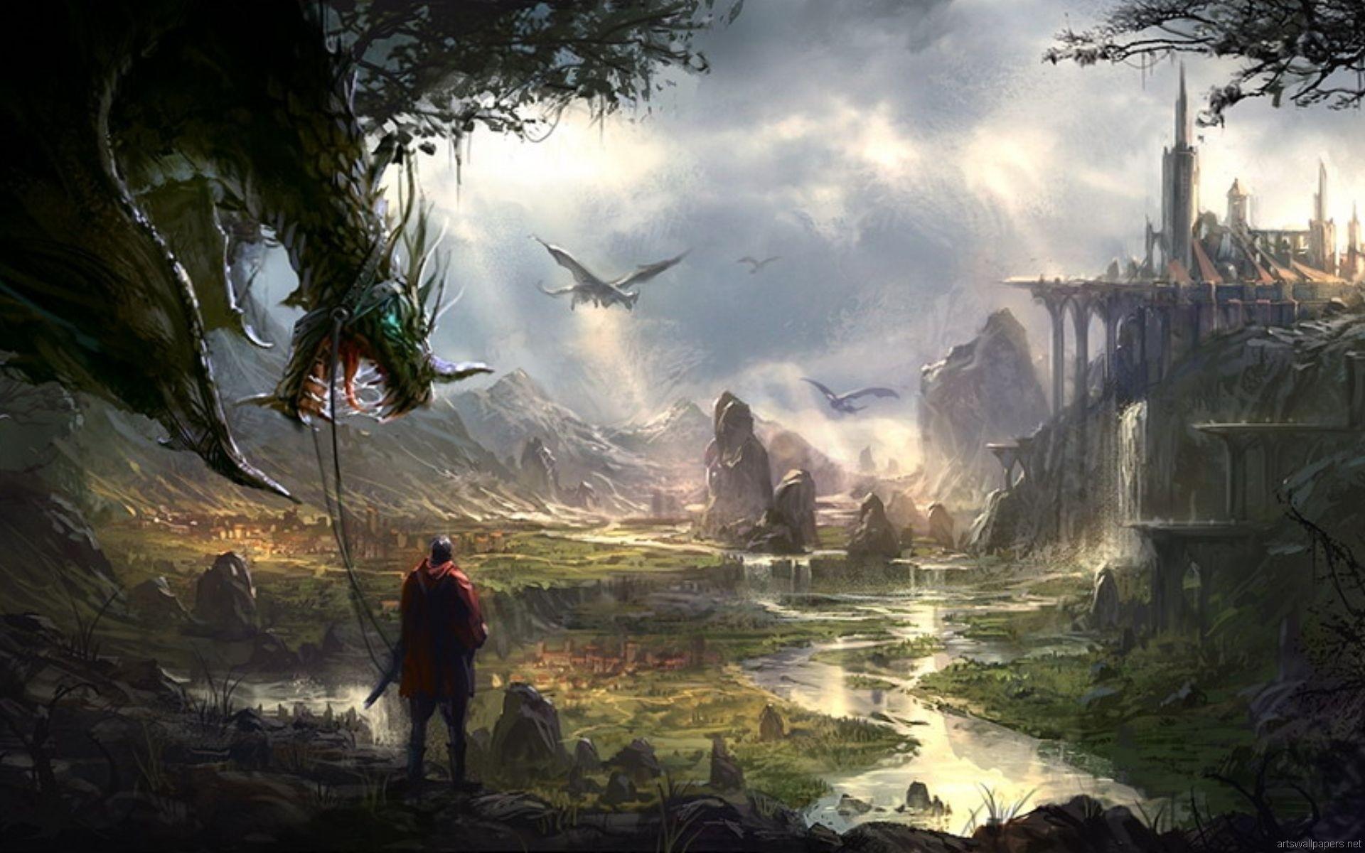Hd Fantasy Wallpapers 1080P – Wallpaper Cave regarding Fantasy Wallpaper Hd