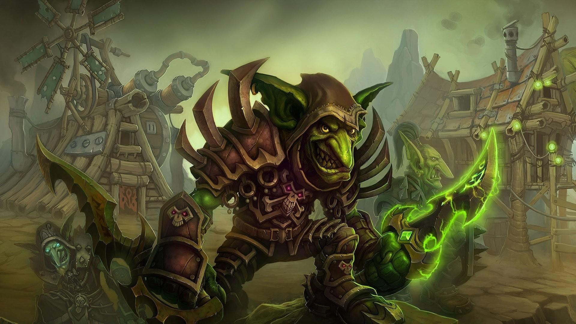 Wallpaper monster, elf, anger, fantasy