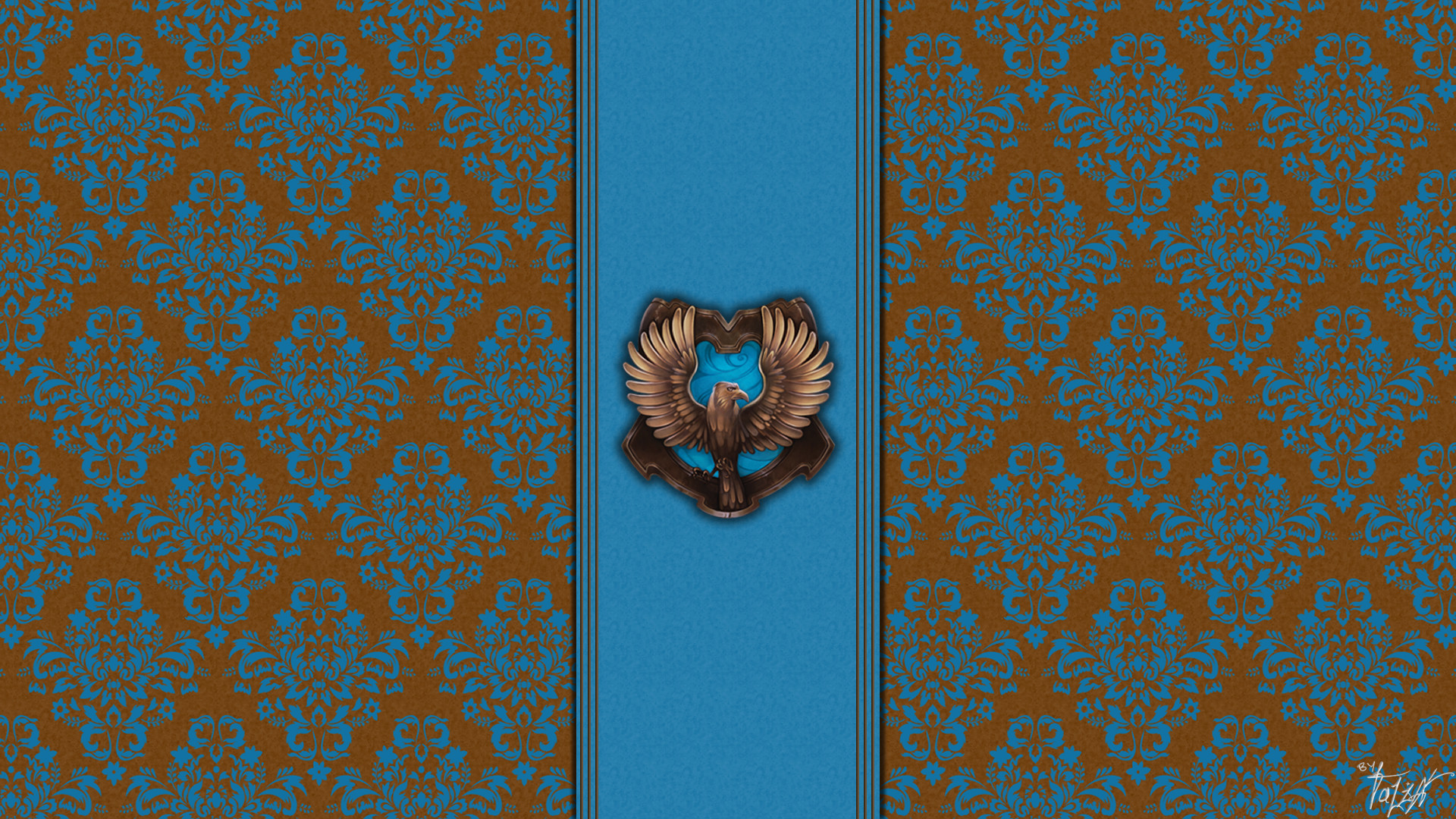 Hogwarts House Wallpaper : Ravenclaw by ~TheLadyAvatar on deviantART