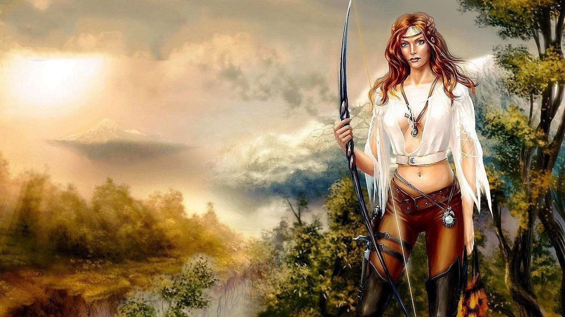 fantasy women warrior Wallpaper Backgrounds
