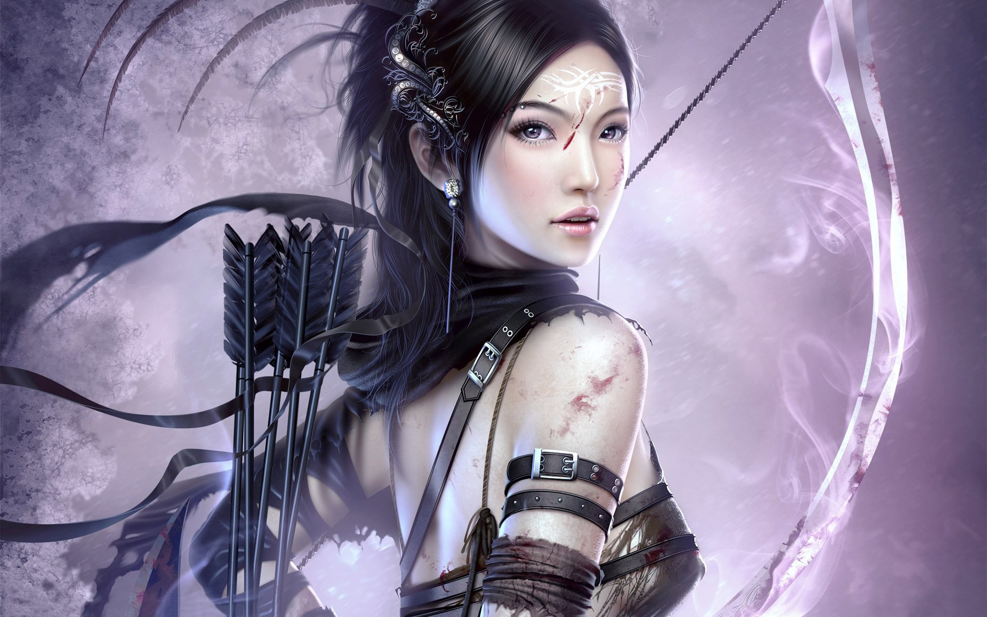 Girl Warrior Wallpaper