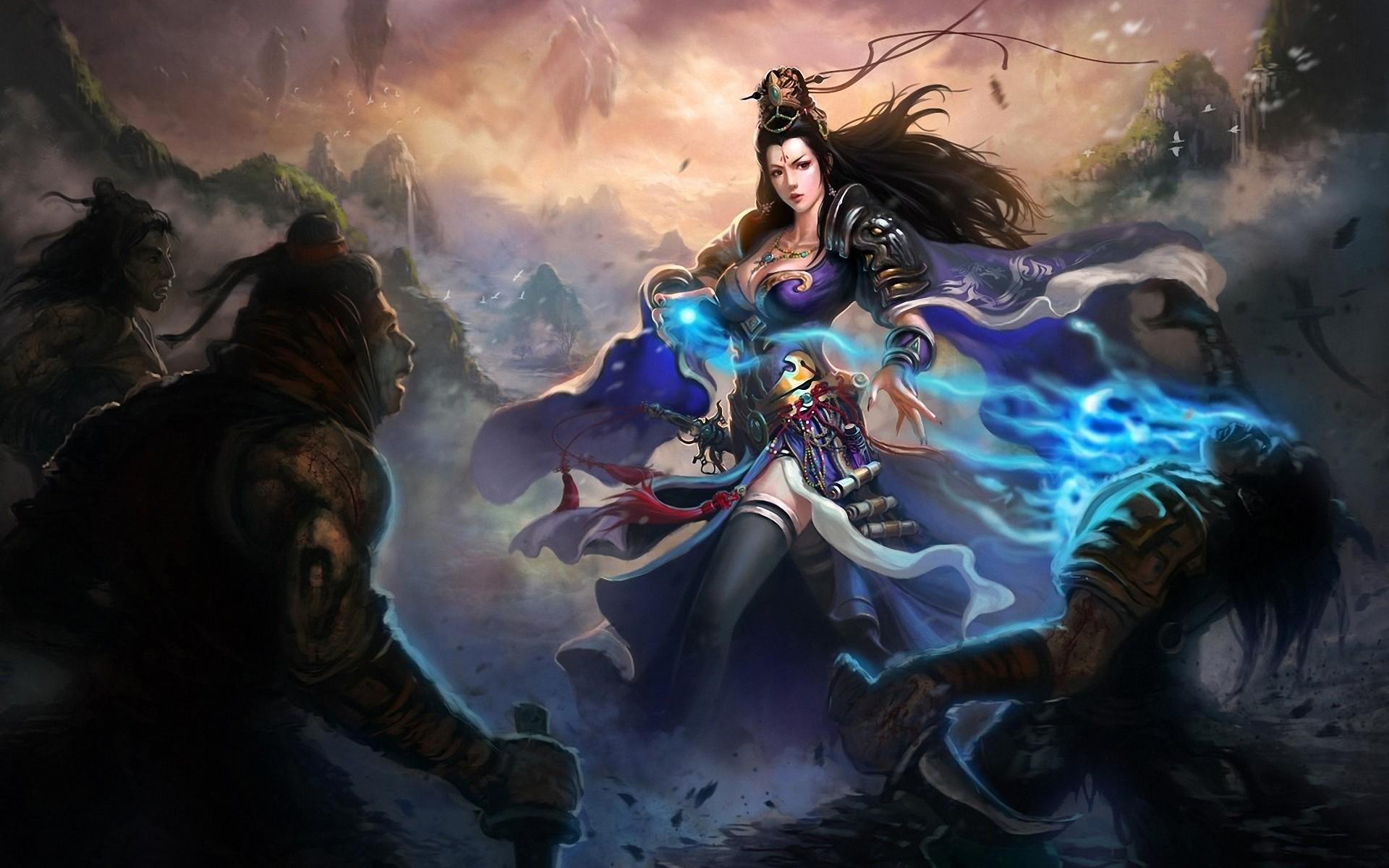 Fantasy Women Warrior Wallpaper