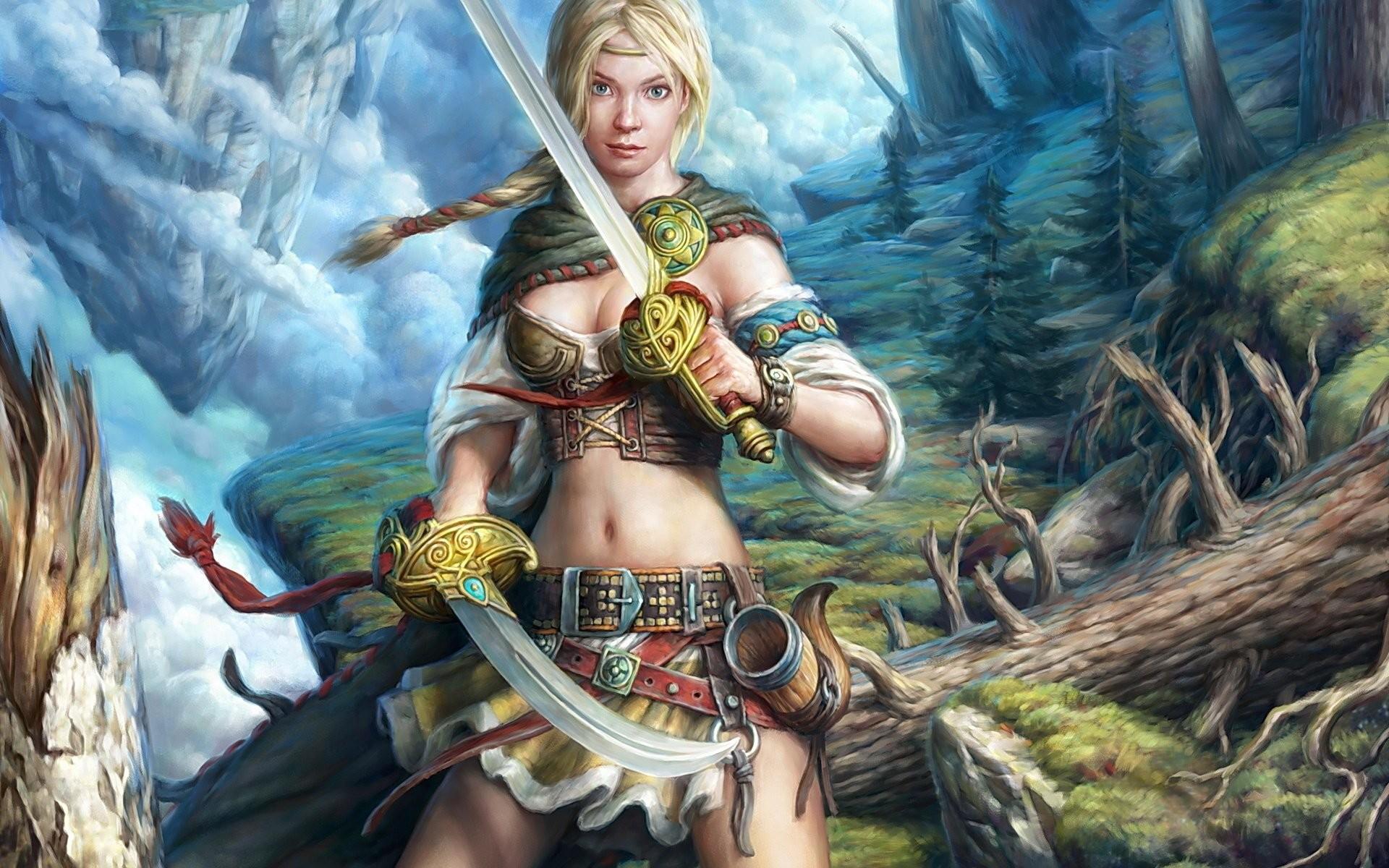 Fantasy Female Warriors
