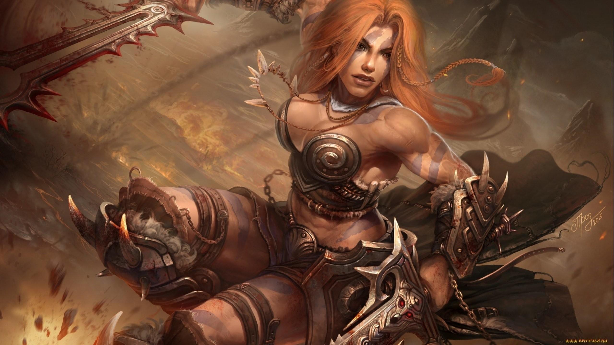 Fantasy artwork art warrior women woman female wallpaper      719463   WallpaperUP