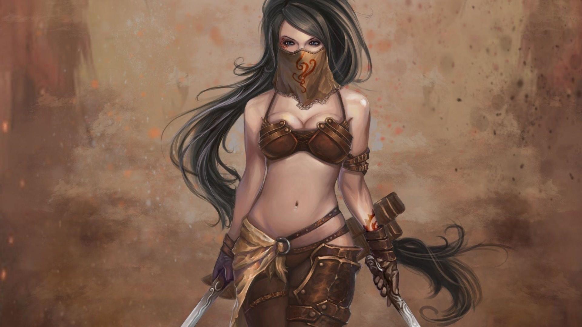 woman warrior. Art ID: 85772