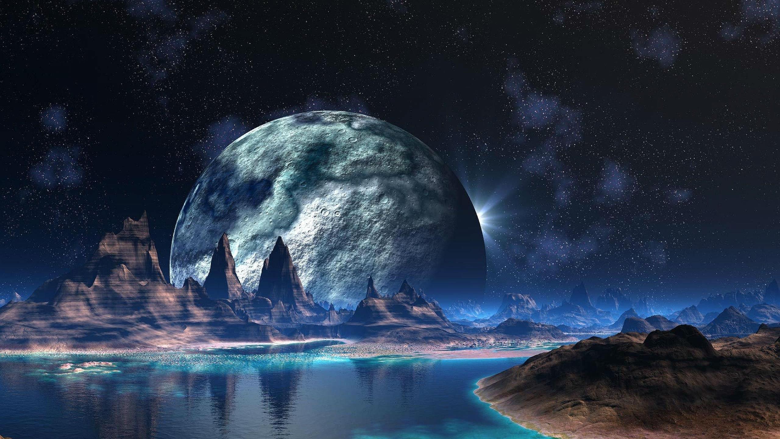 alien planet wallpaper 2560×1440