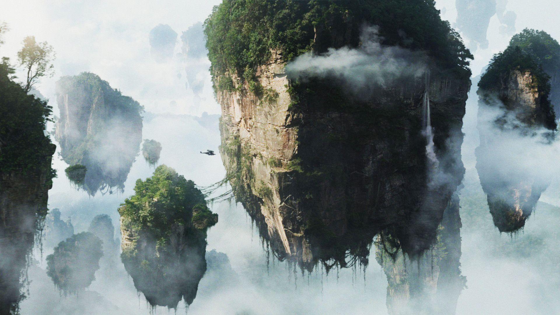 Surreal Alien Landscapes Wallpaper