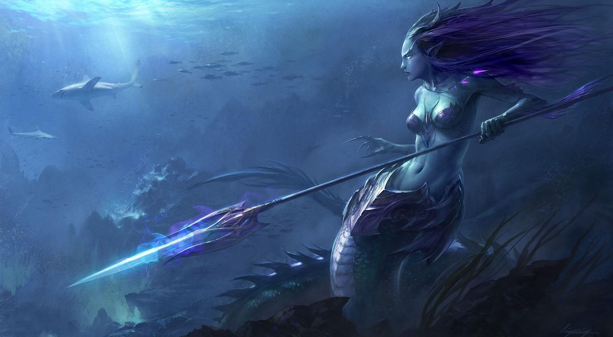 65 Mermaid Screensavers And Wallpaper