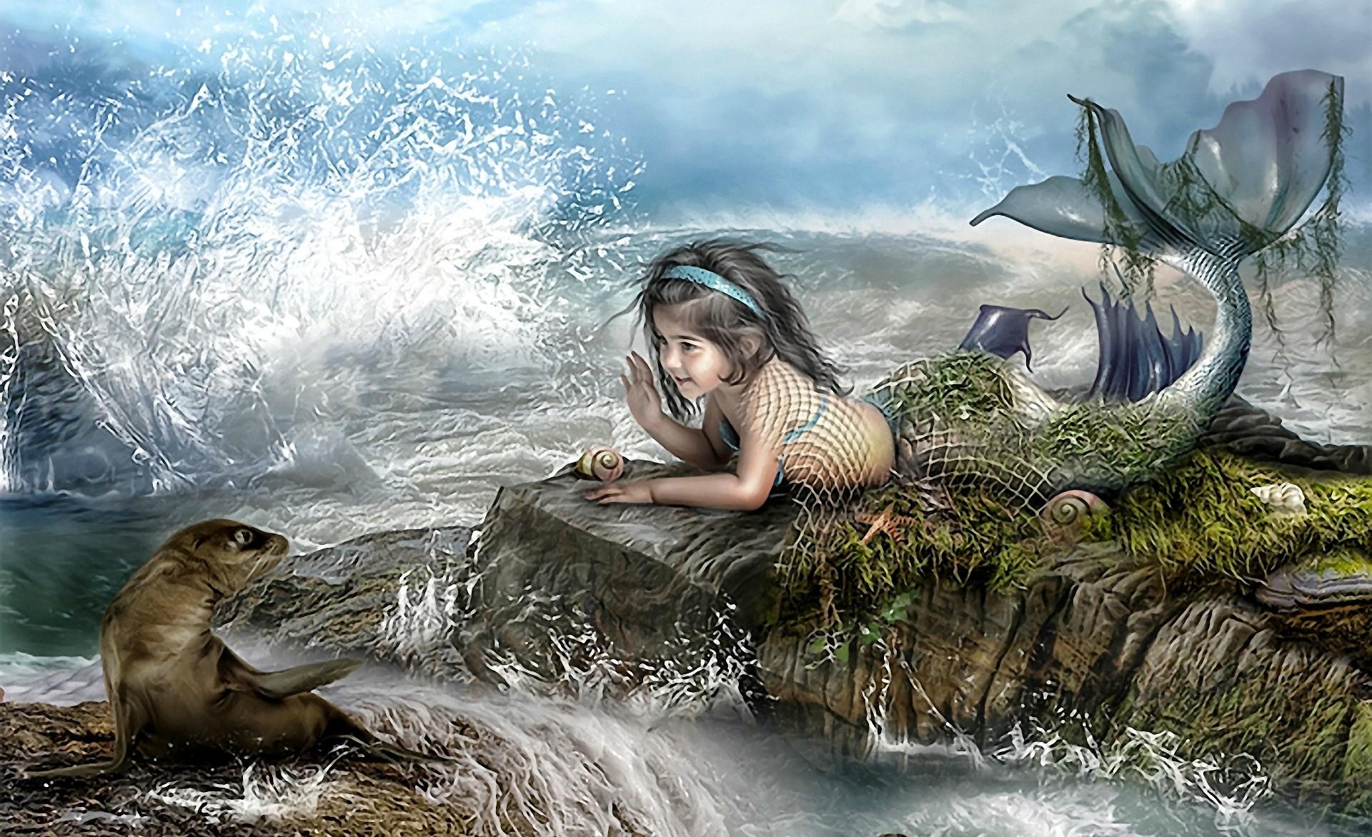 Mermaid Computer Wallpapers, Desktop Backgrounds     ID .