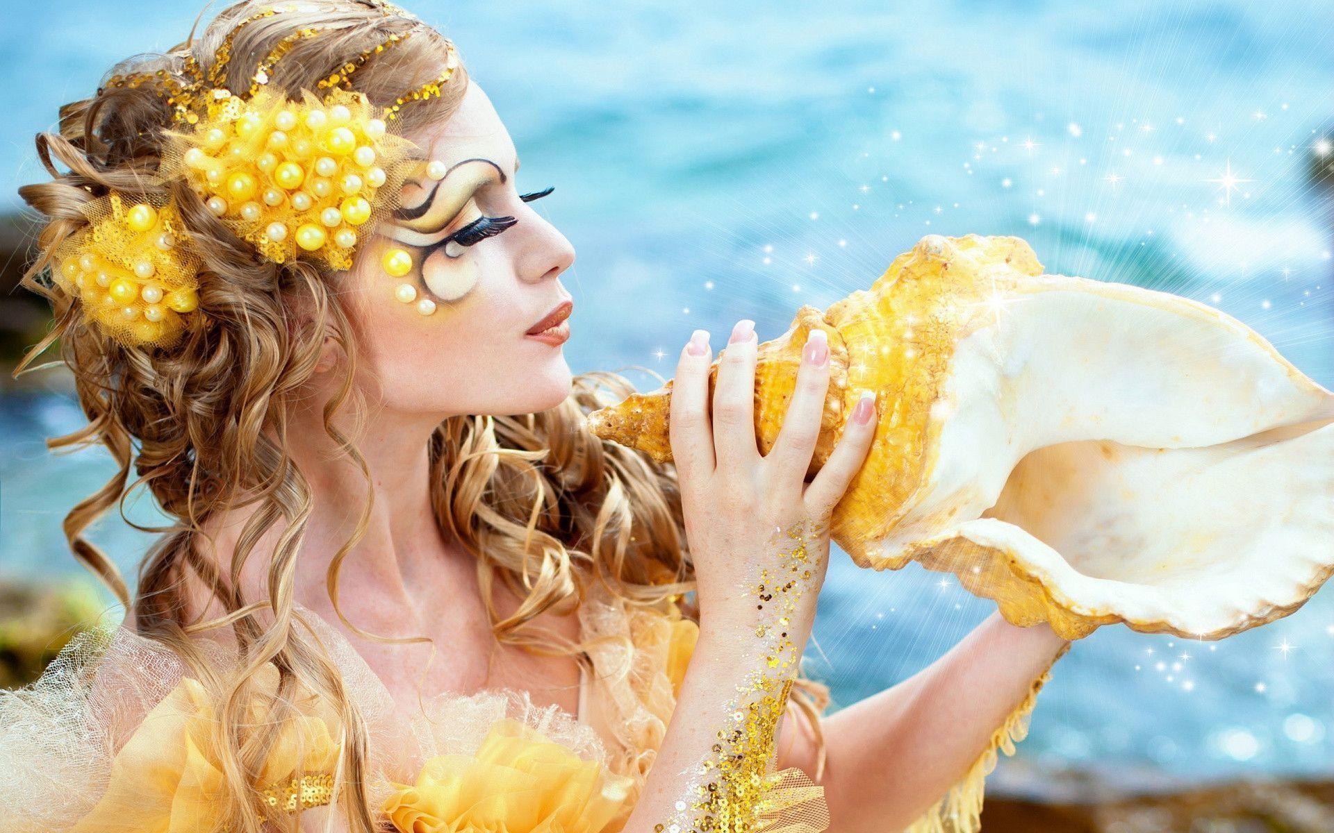 Wallpapers For > Beautiful Mermaid Wallpaper