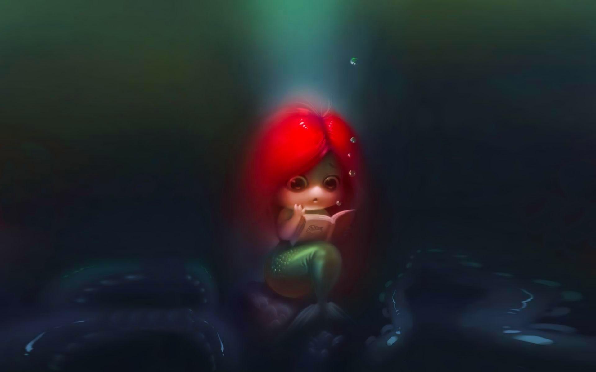 Mermaid Little Girl   Cute HD 4k Wallpapers