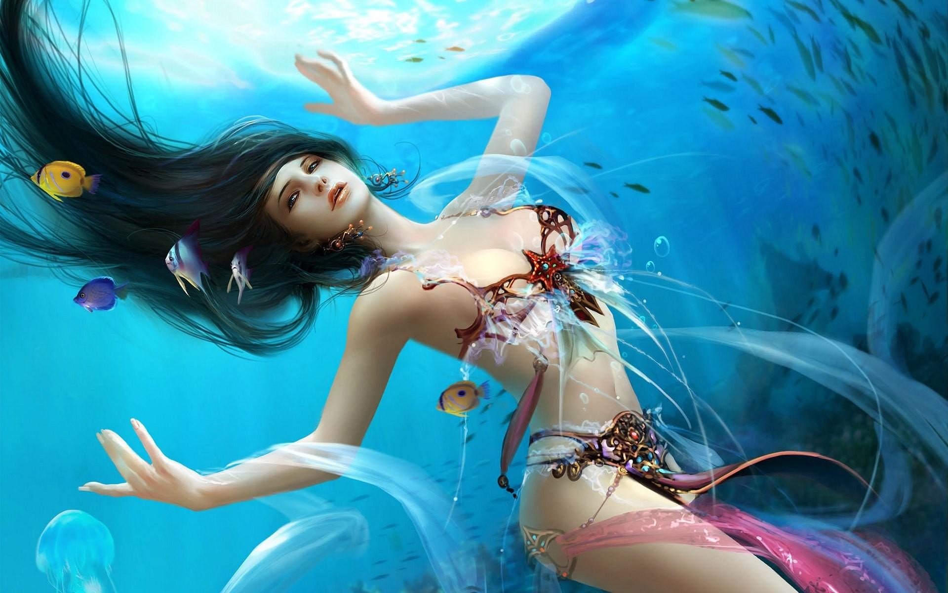 Fantasy Mermaid Exclusive HD Wallpapers 4535
