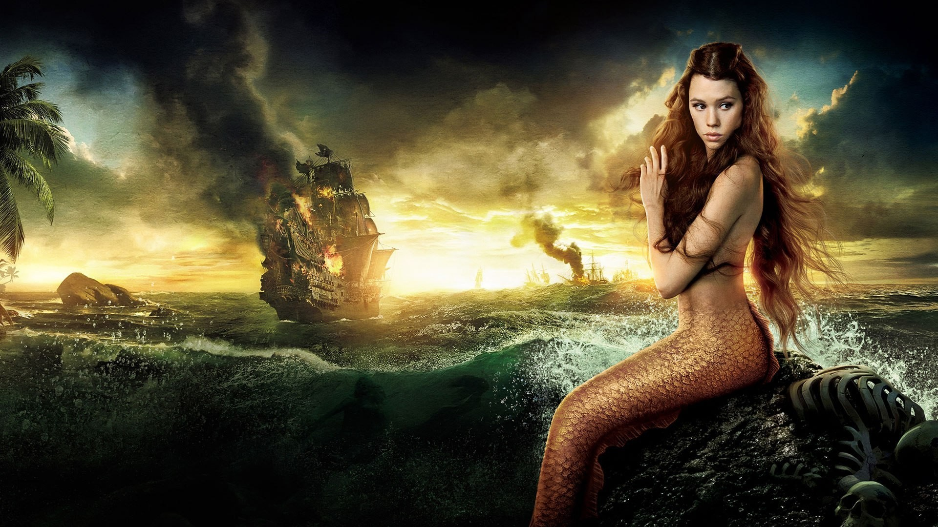 Free Wallpapers – Pirates Of The Caribbean Mermaids Wallpaper