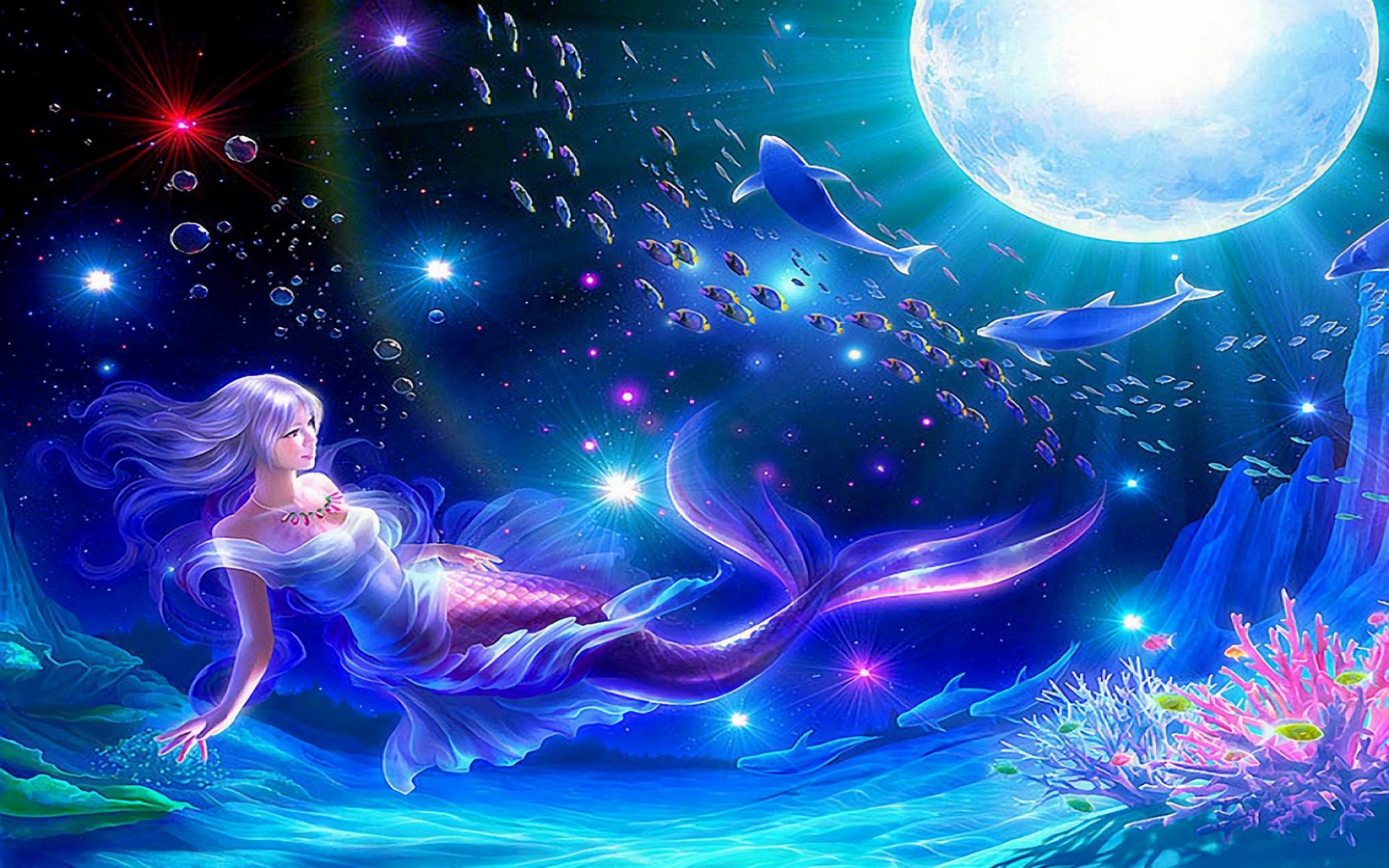 HD Wallpaper   Background ID:146429. Fantasy Mermaid