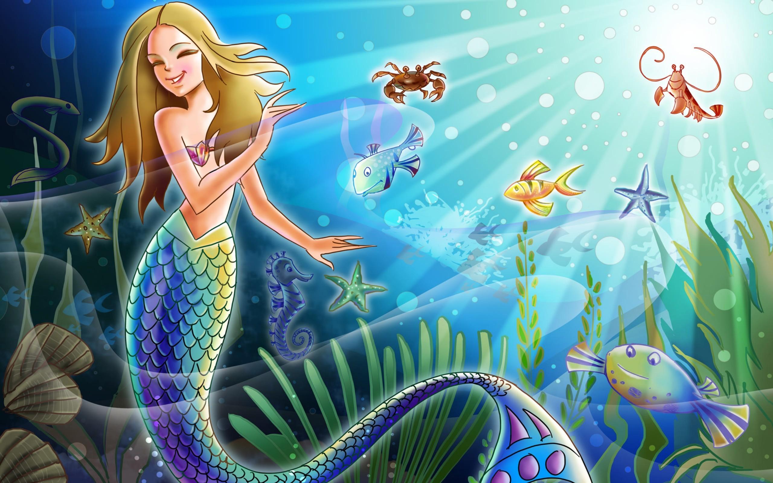 fish wallpaper mermaid. Â«Â«