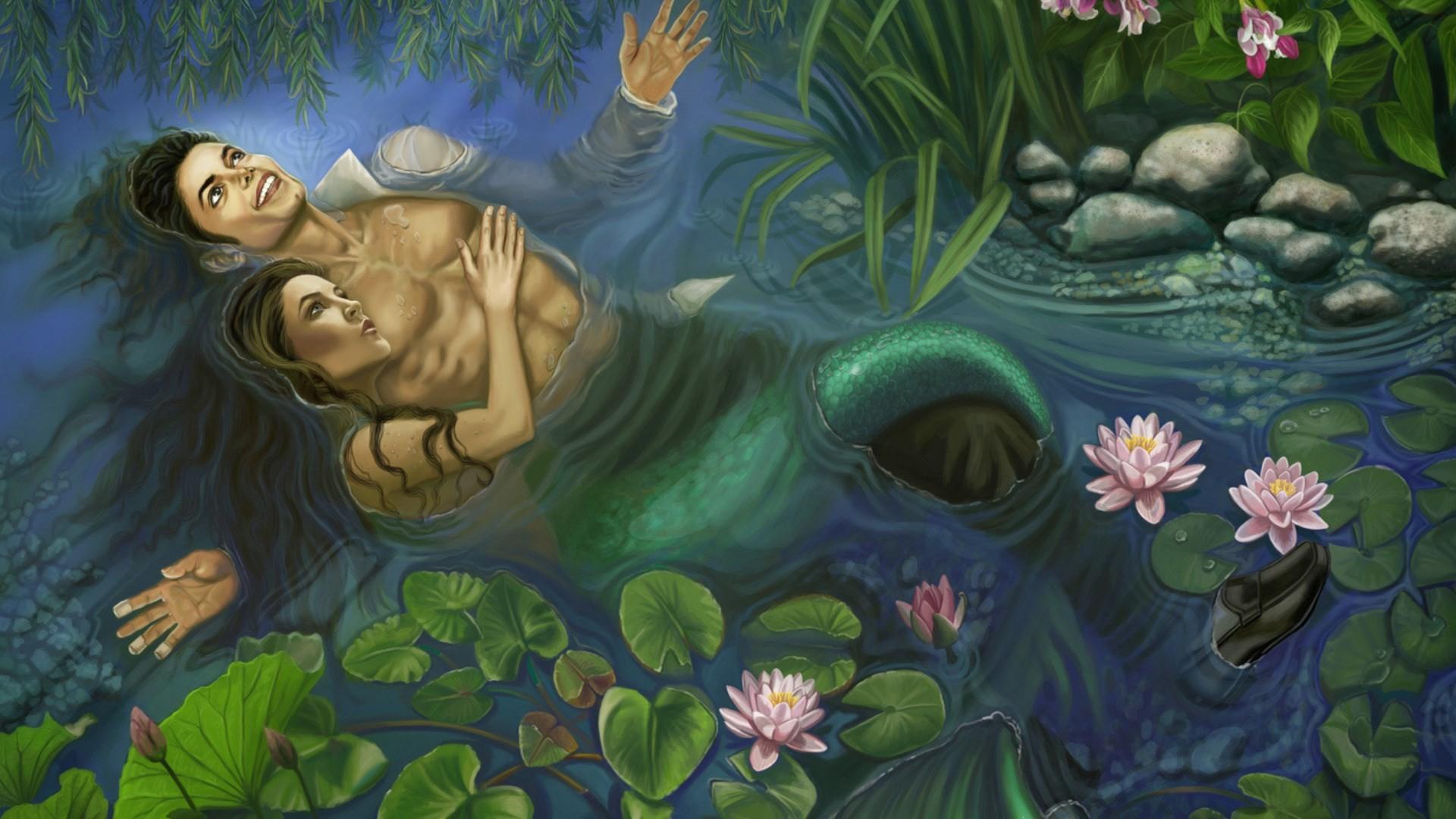 free screensaver wallpapers for mermaid (Mardelle Bishop 1920×1080)