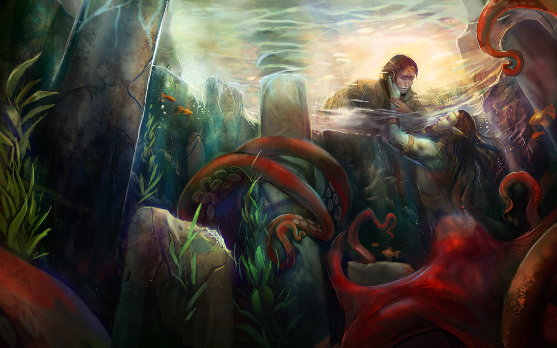 free screensaver wallpapers for mermaid