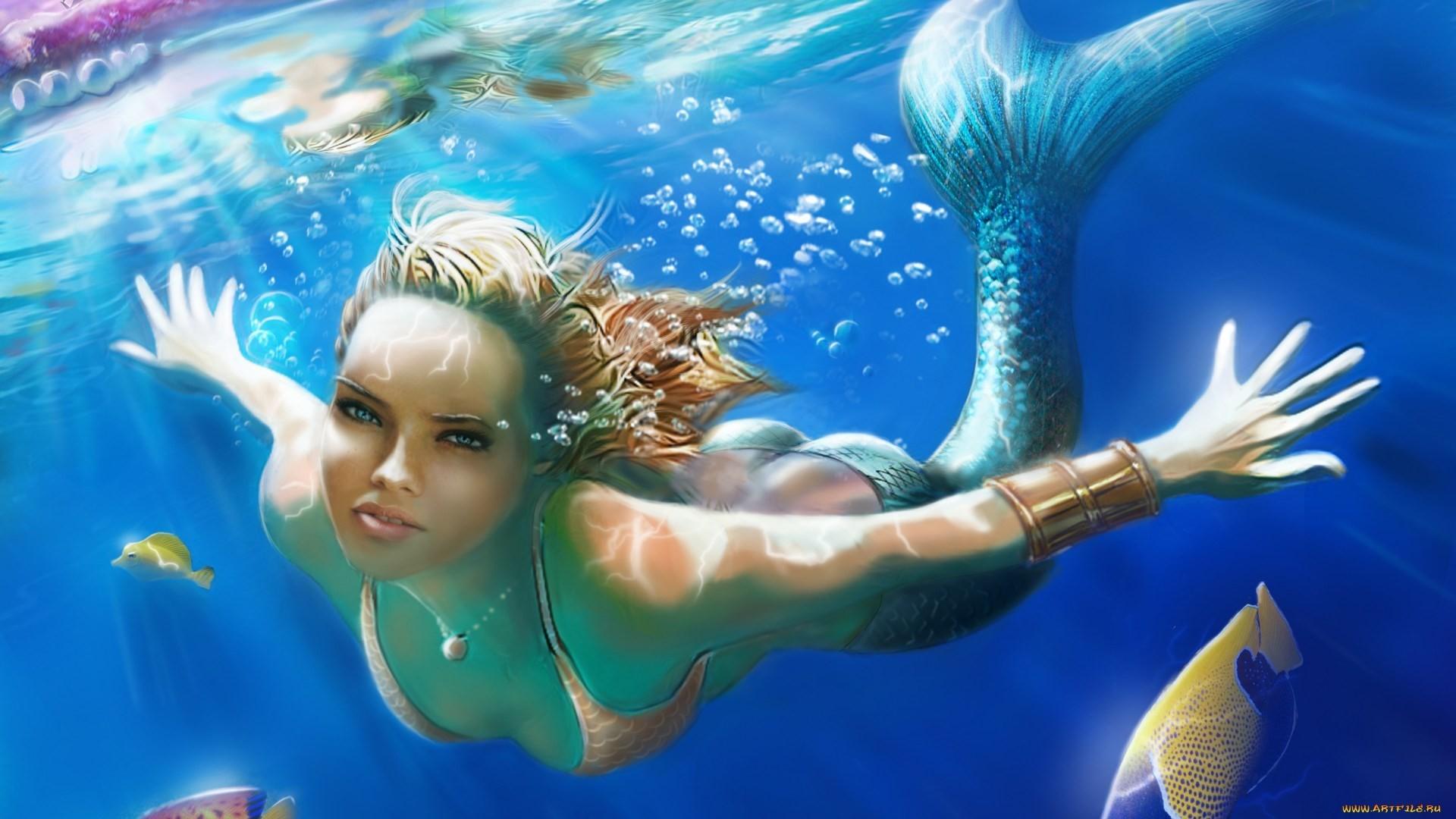 mermaid wallpaper free hd widescreen – mermaid category