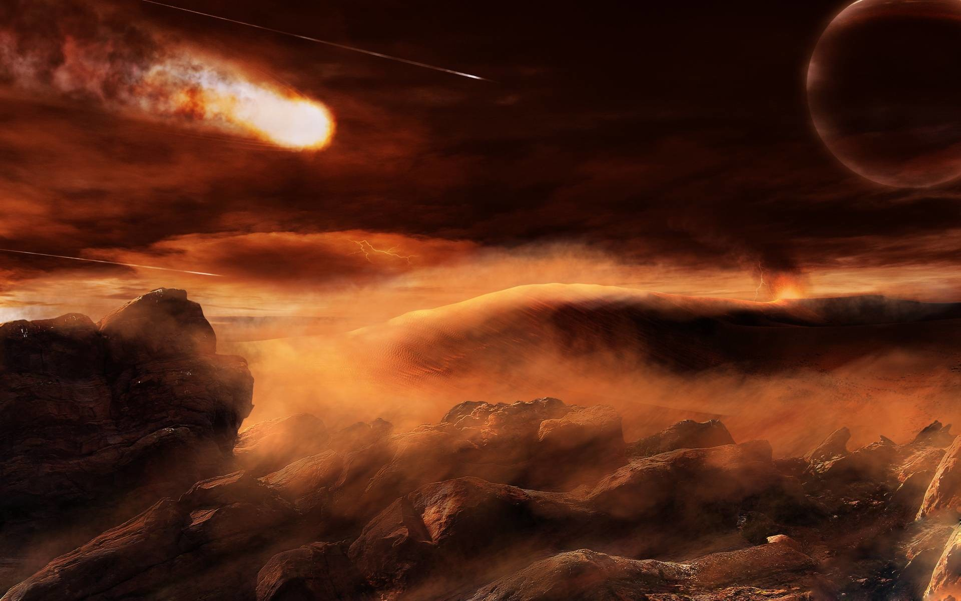 On an alien planet wallpapers and images – wallpapers, pictures .