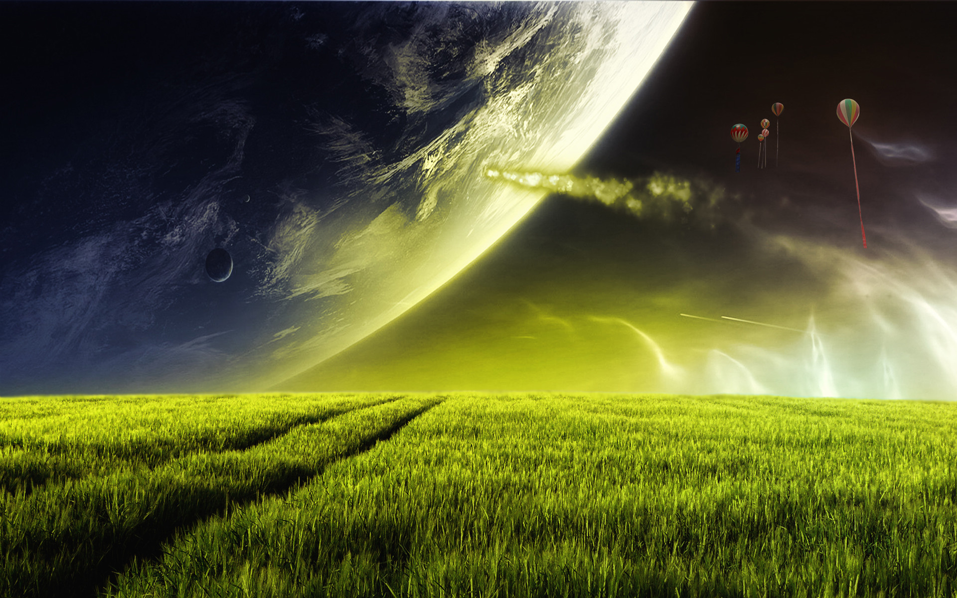 Alien Planet hd wallpaper by theOldMan