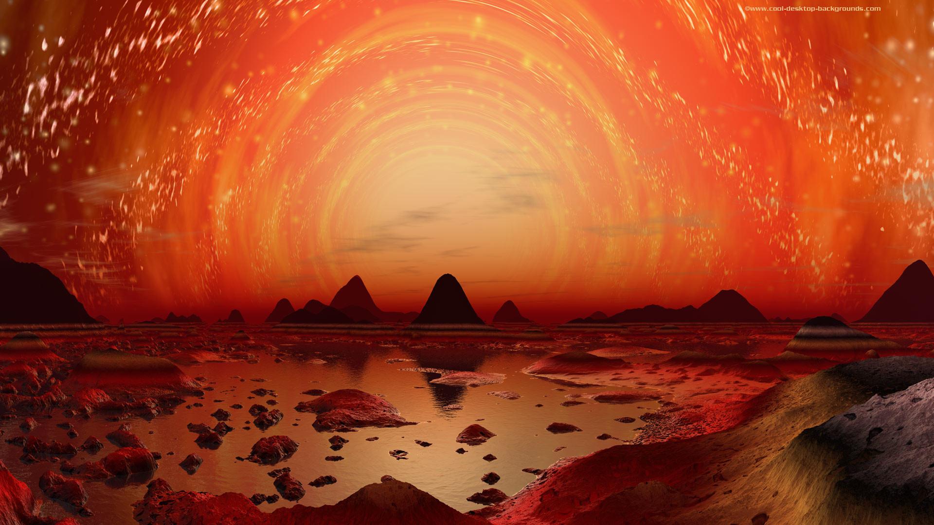 sfondi, paesaggio, alieno, mondo, scifi, desktop, pianeti, cool,
