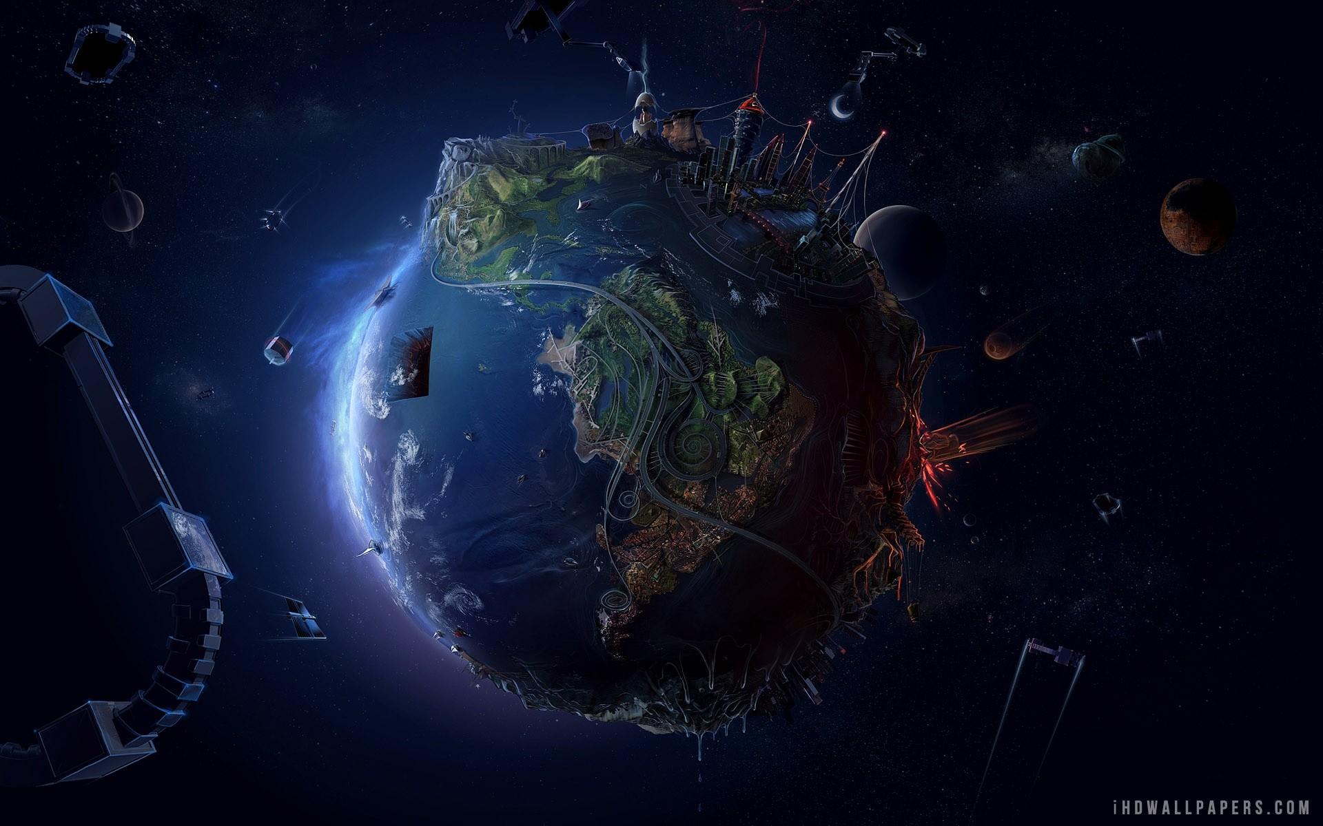 Alien Planet wallpaper thumb