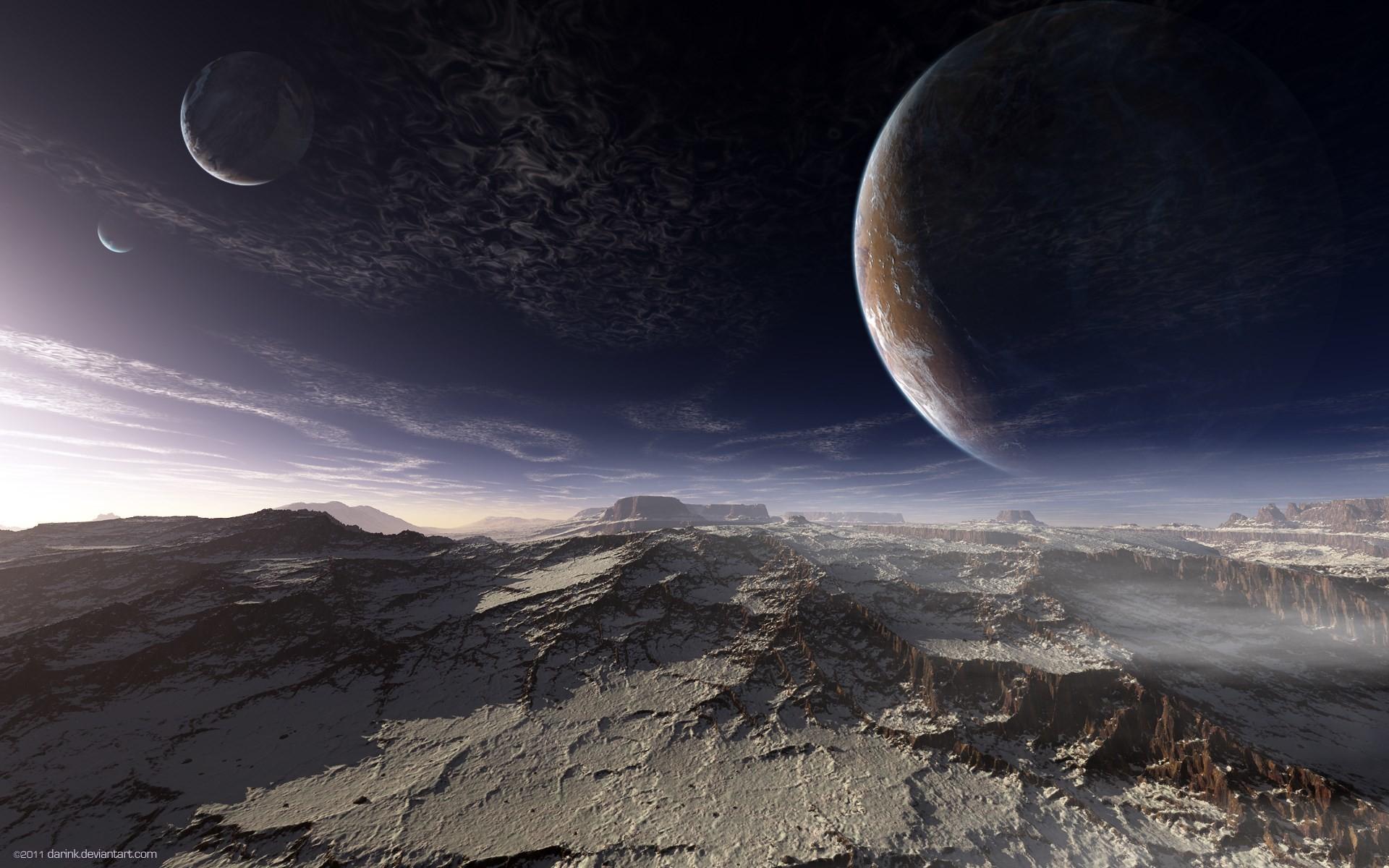 alien planet surface wallpaper …