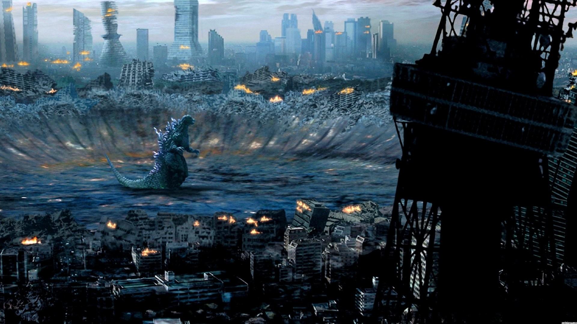 HD Wallpaper | Background ID:445812. Fantasy Godzilla