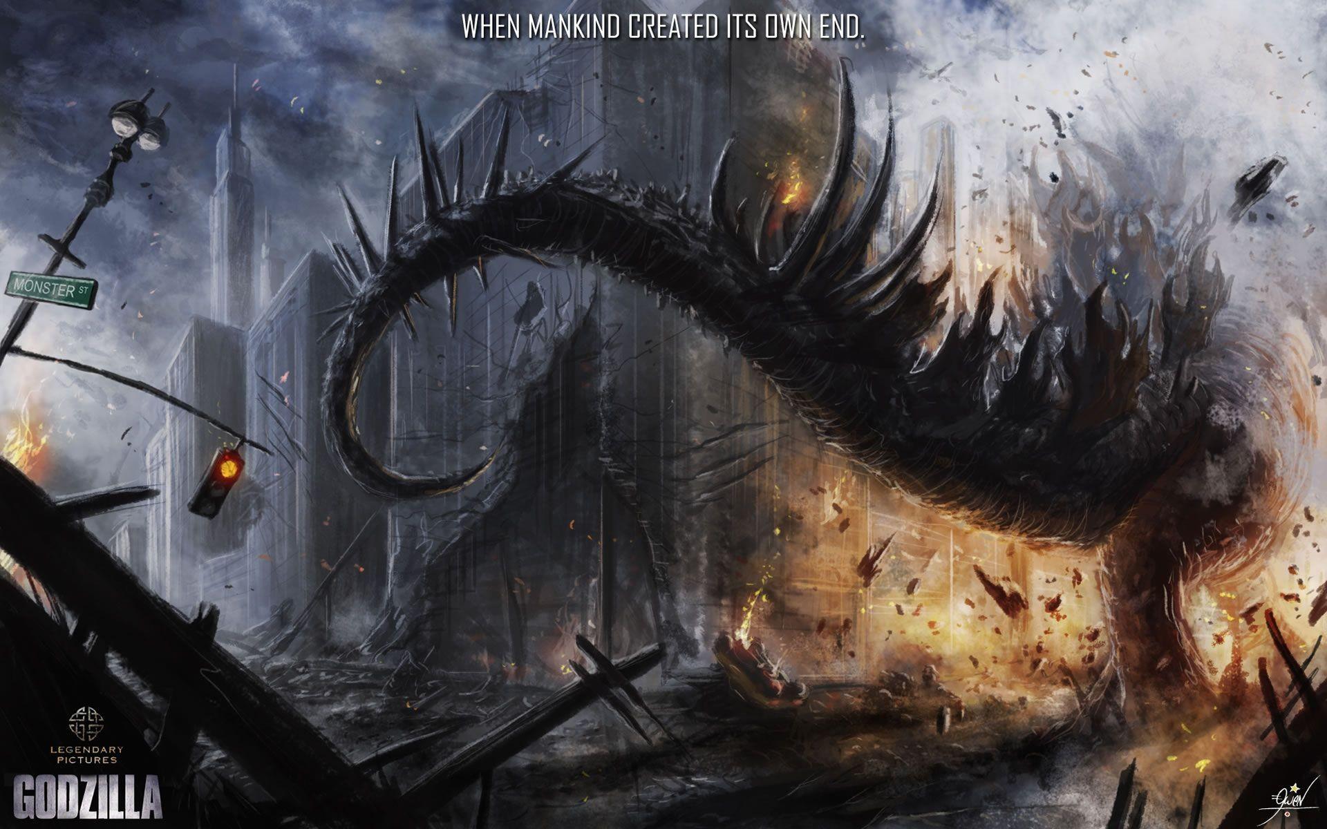 Godzilla HD Wallpaper | Wallpapers | Pinterest | Godzilla and Hd wallpaper
