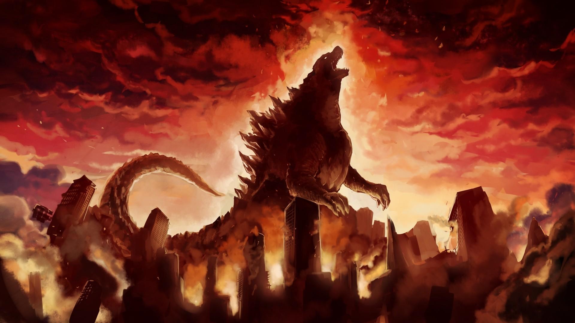 Godzilla (2014) HD Pretty Wallpaper
