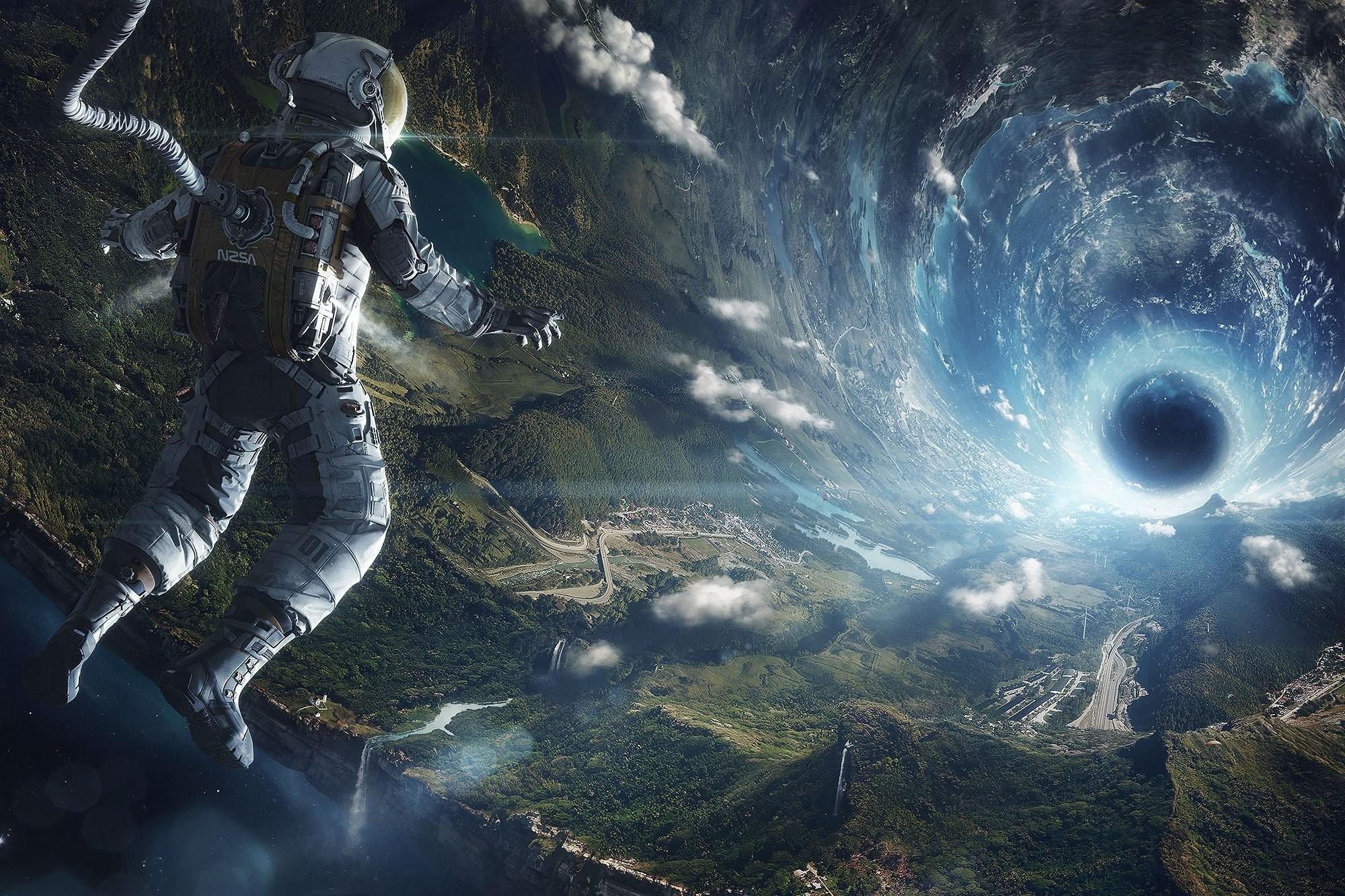 Space Astronauts Fantasy Art