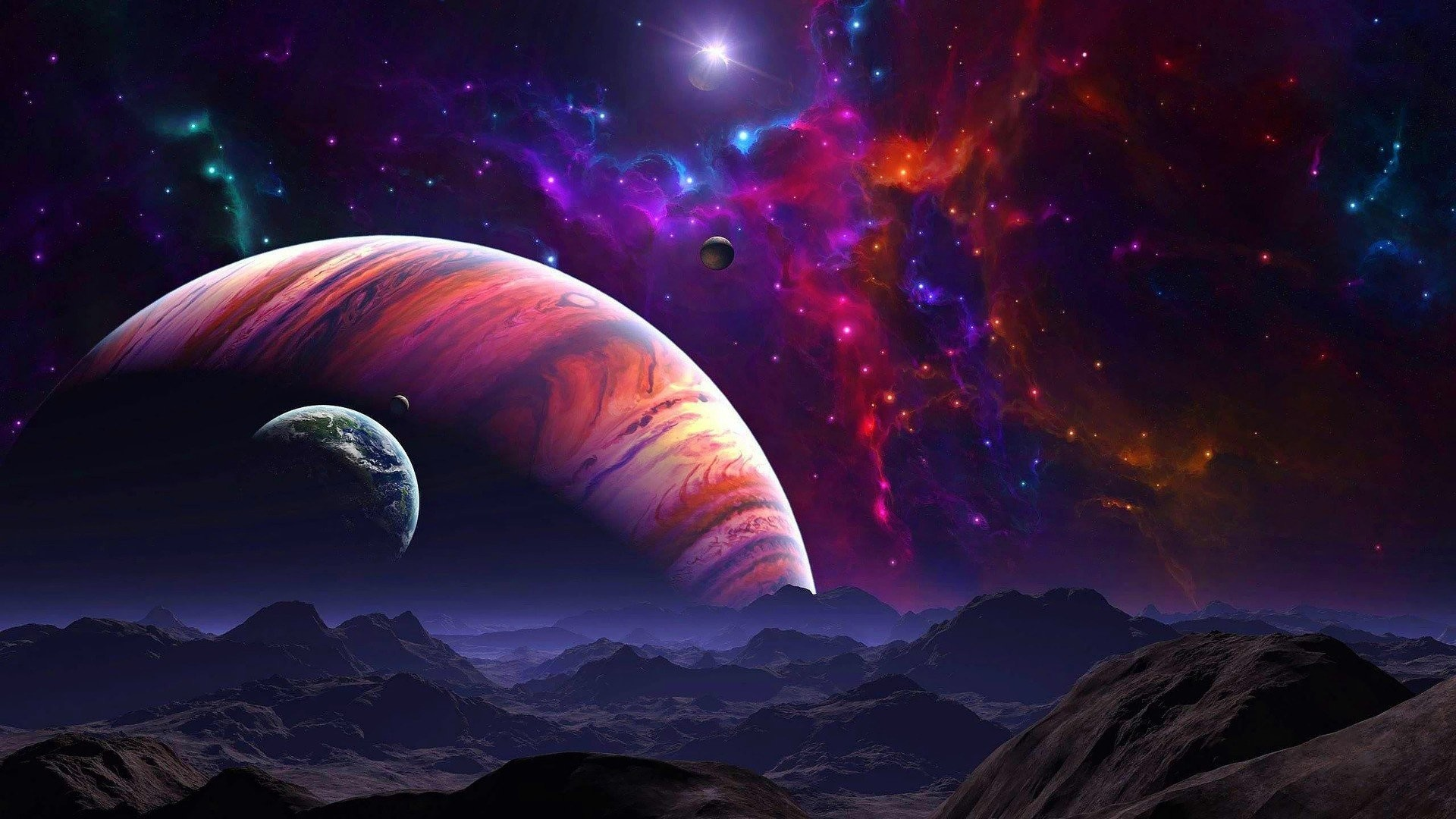Artwork Fantasy Art Concept Skies Galaxies Space Digital …
