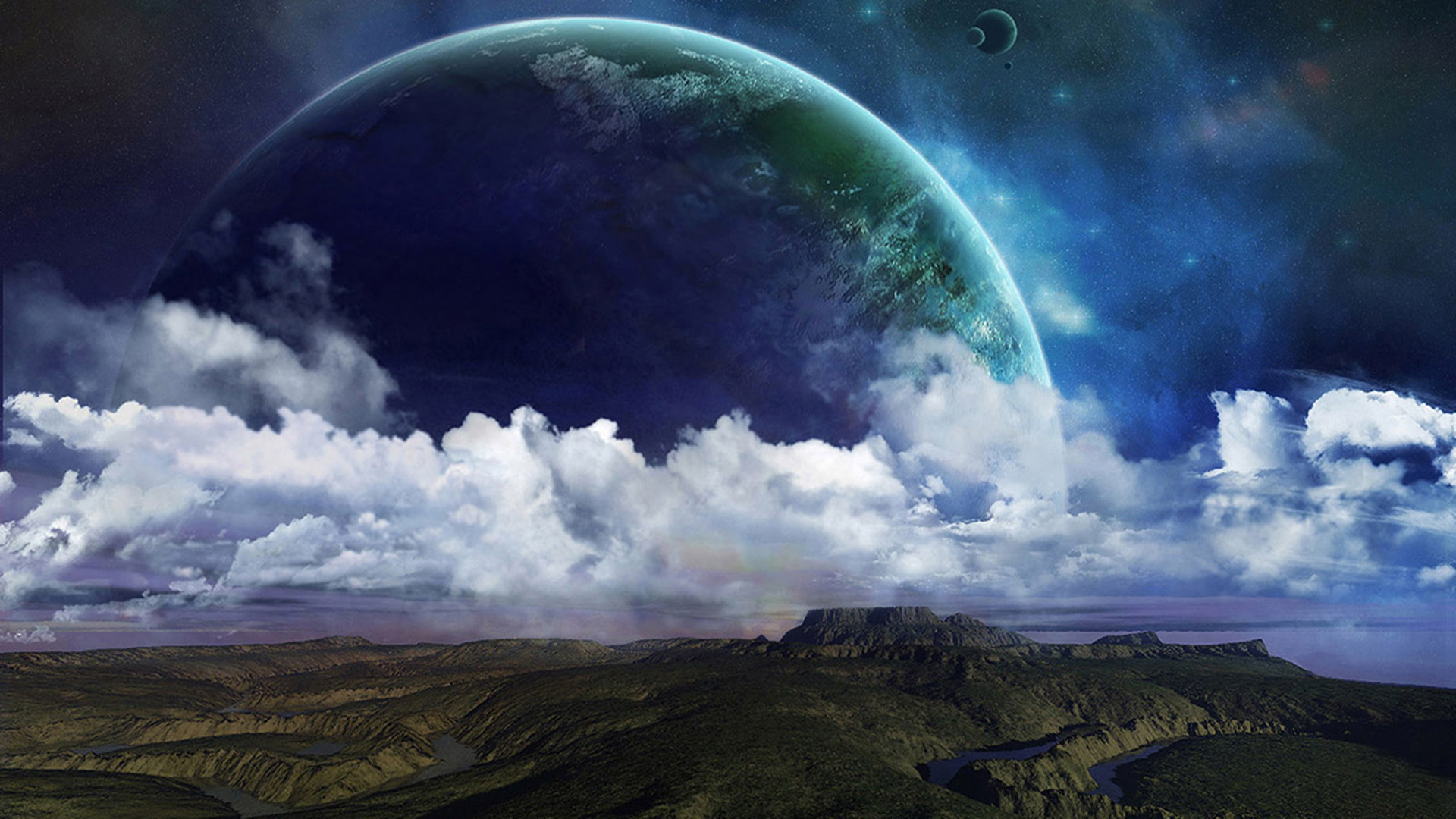 Fantasy Space Art | Free Desktop Wallpapers for Widescreen, HD and Mobile
