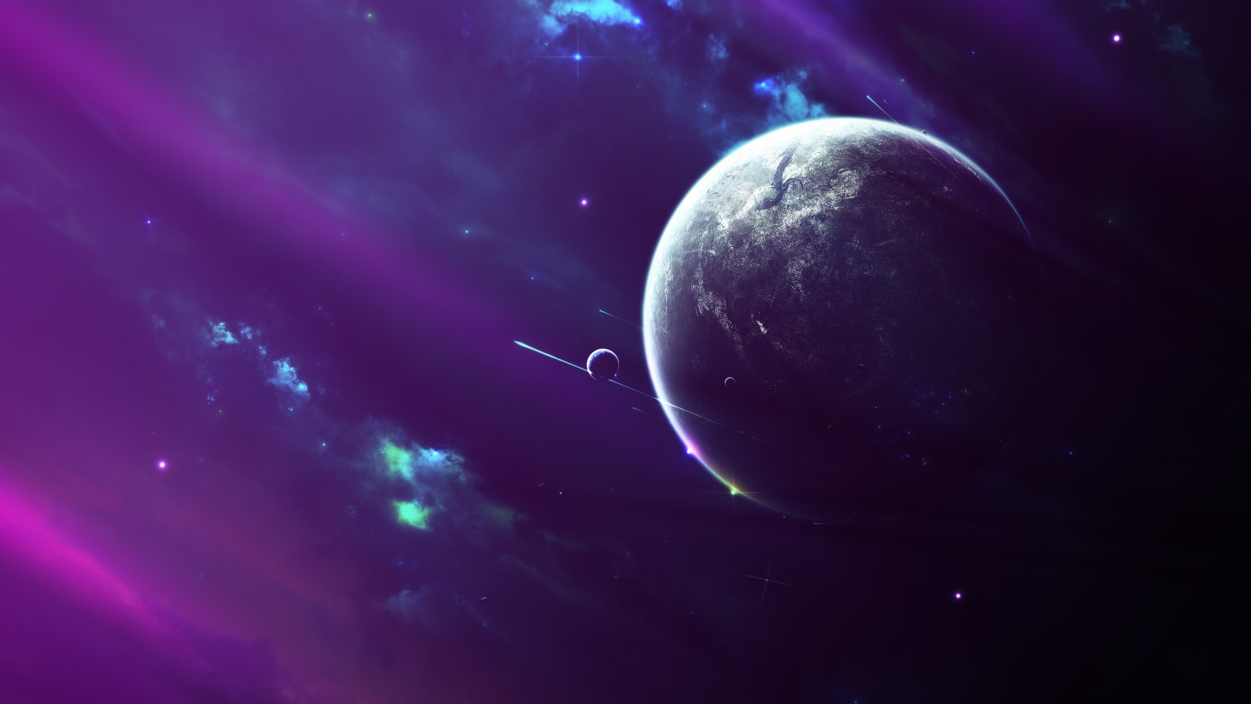planet, Space, Fantasy art Wallpapers HD / Desktop and Mobile Backgrounds