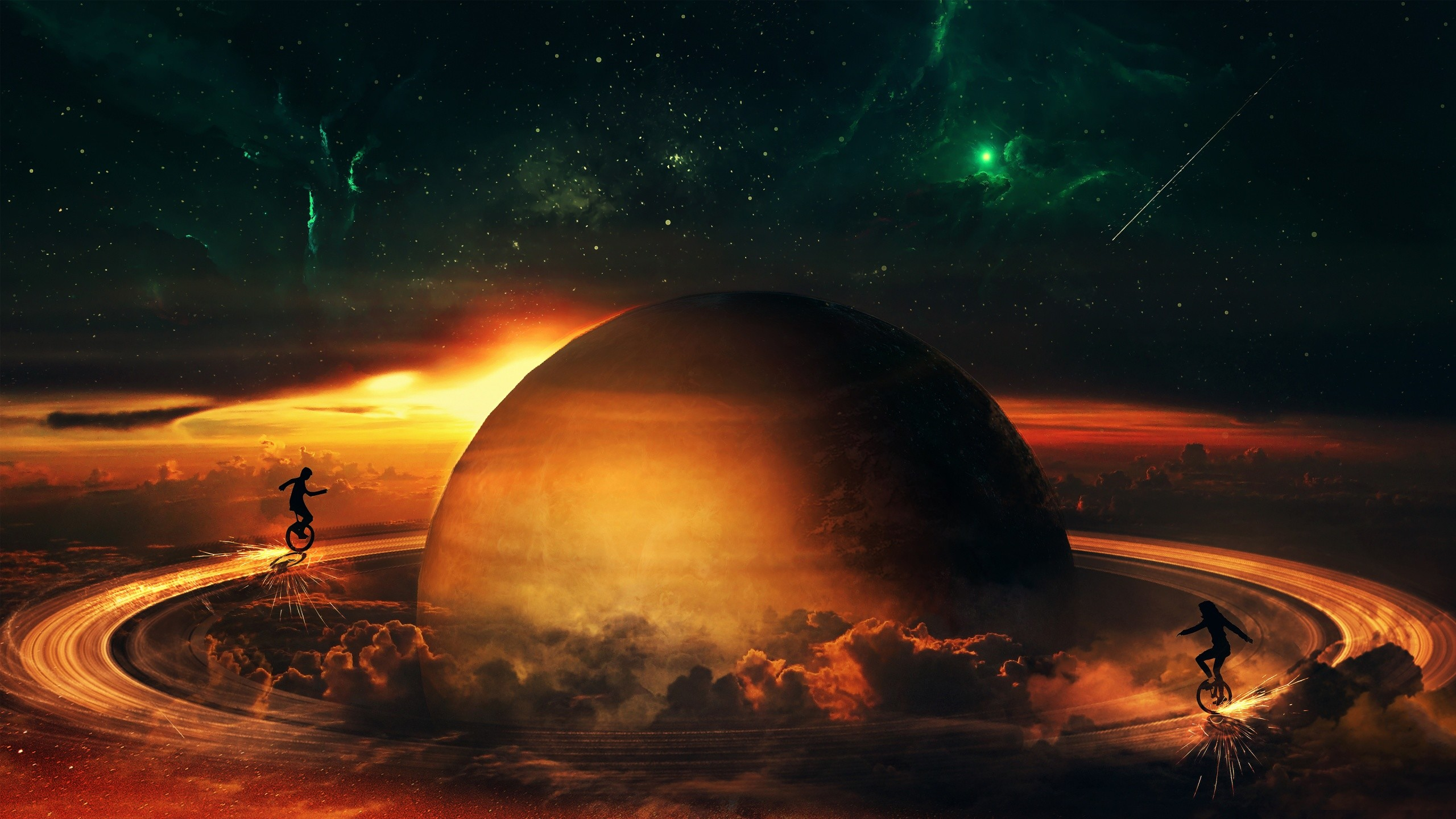 Fantasy Space Sci-Fi Art Wallpaper, free computer desktop hd wallpapers,  pictures,