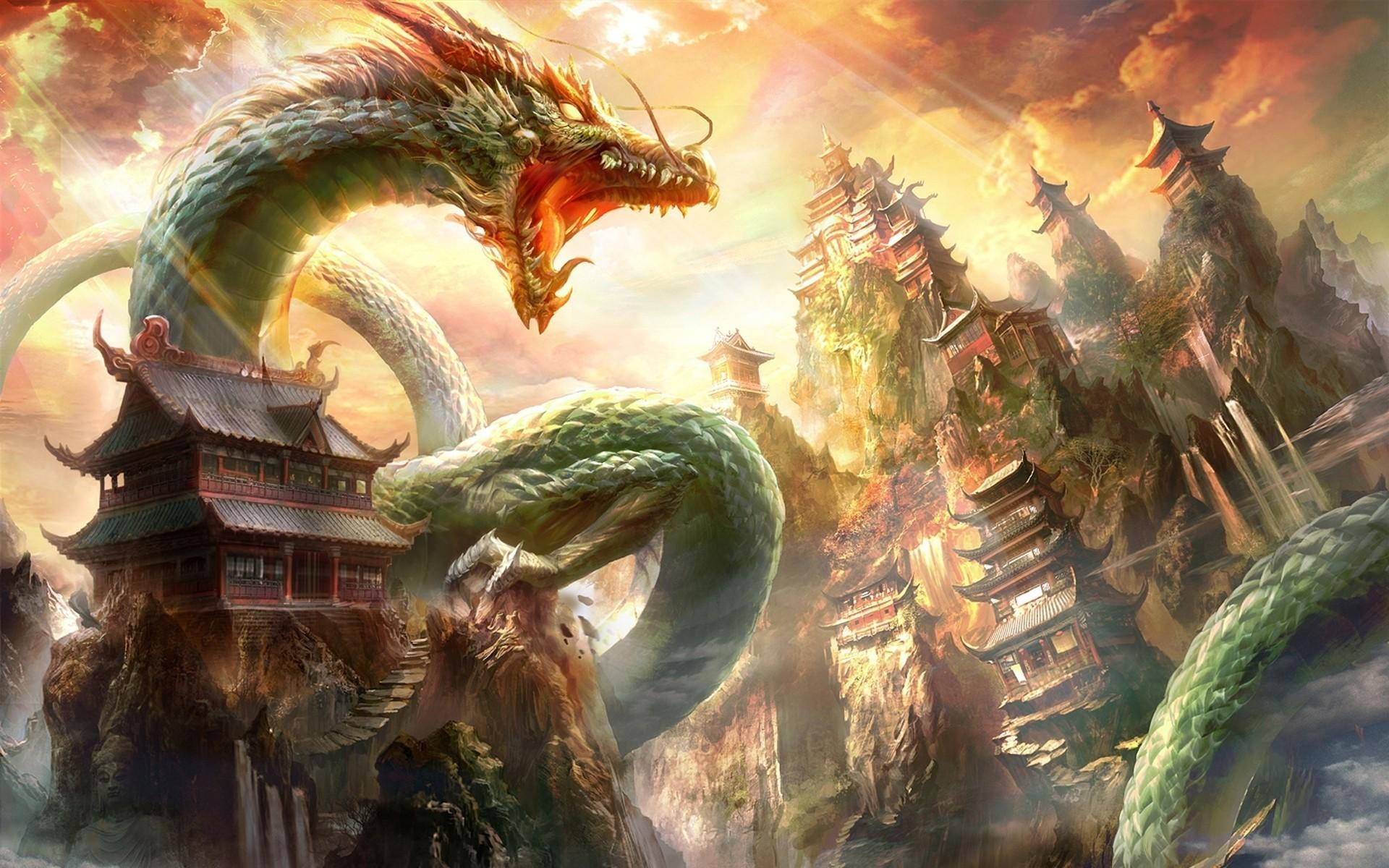 Japanese Dragon Wallpaper HD