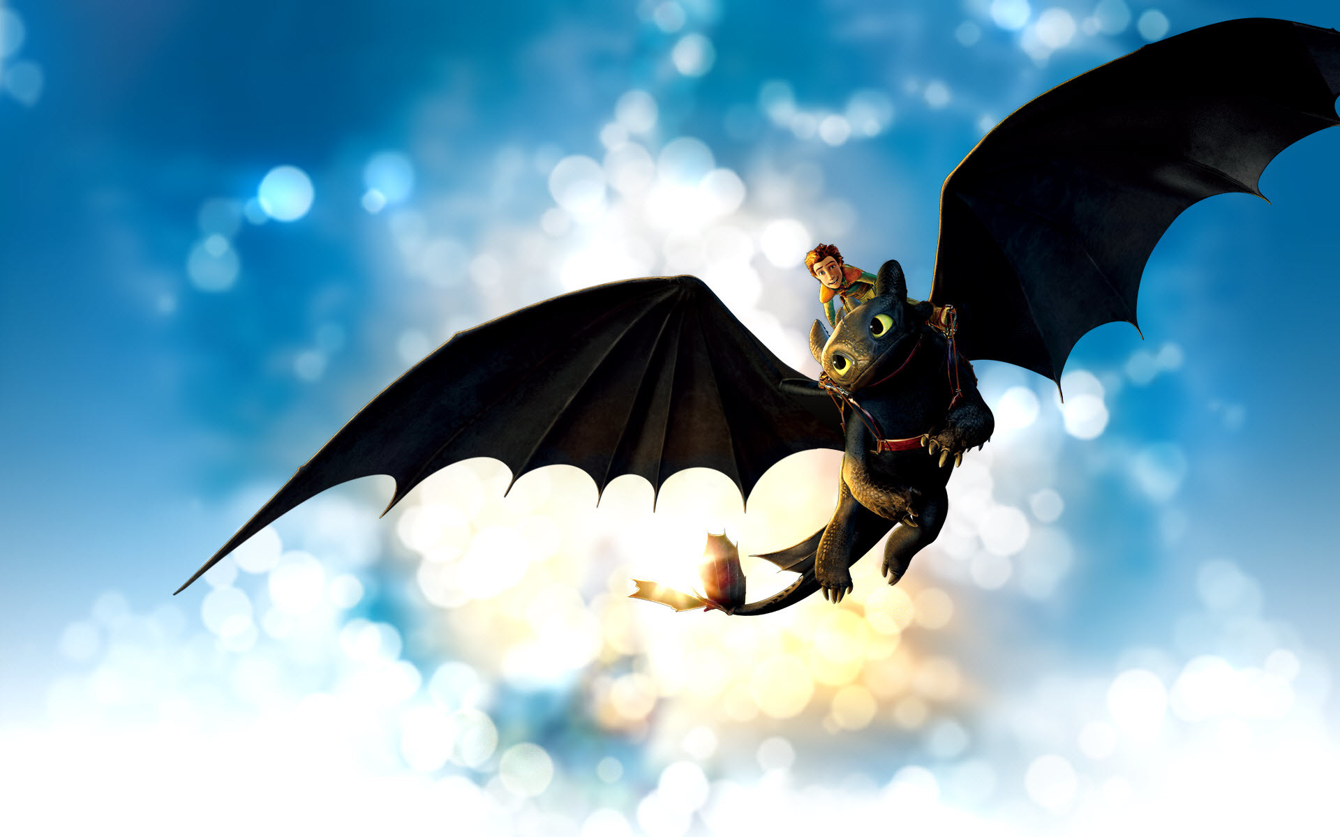 Japanese Hiccup Dragon Wallpaper