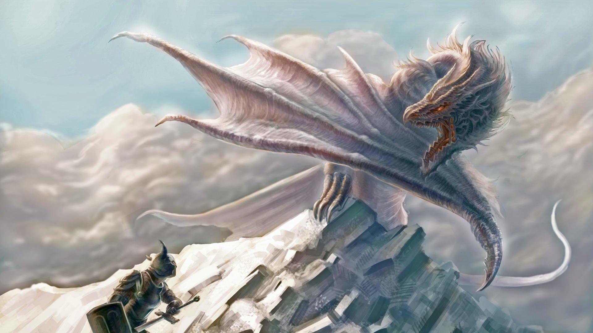 Projection Dragon Wallpaper Design