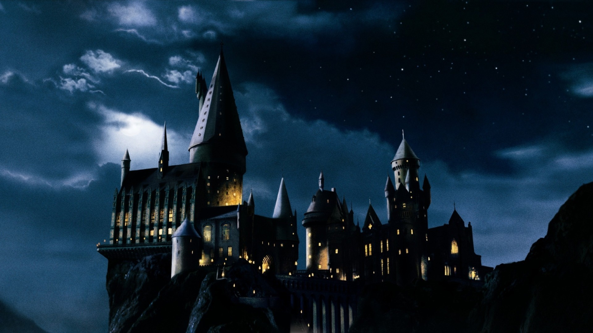 Harry Potter And The Hogwarts Castle Iphone Wallpaper