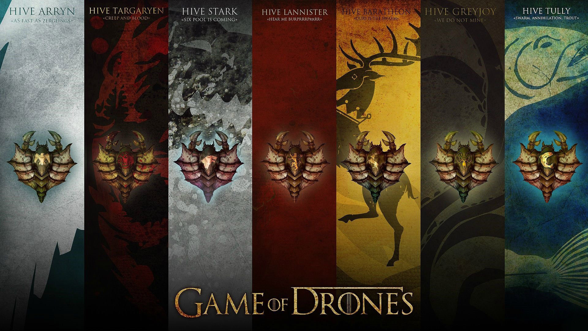 Game of Drones HD Wallpaper | Game Of Thrones Wallpapers